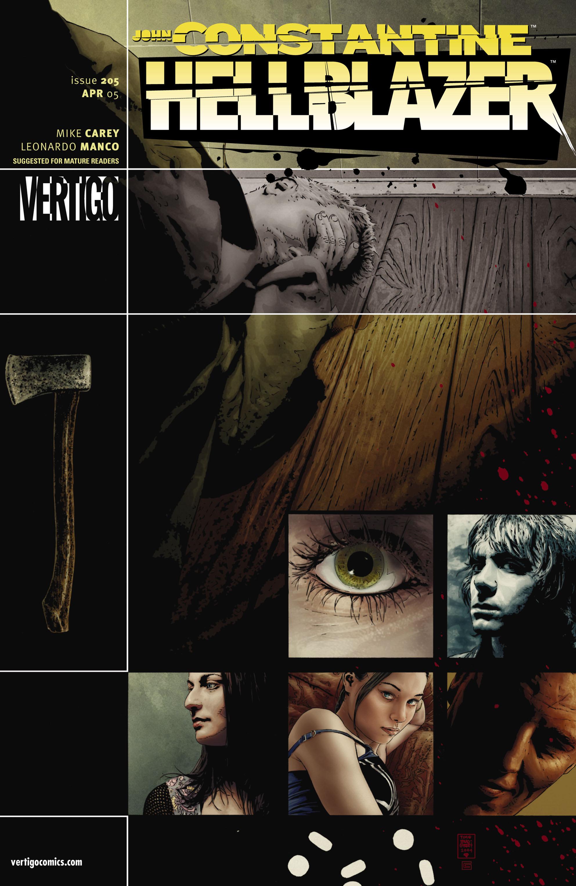 Hellblazer issue 205 - Page 1
