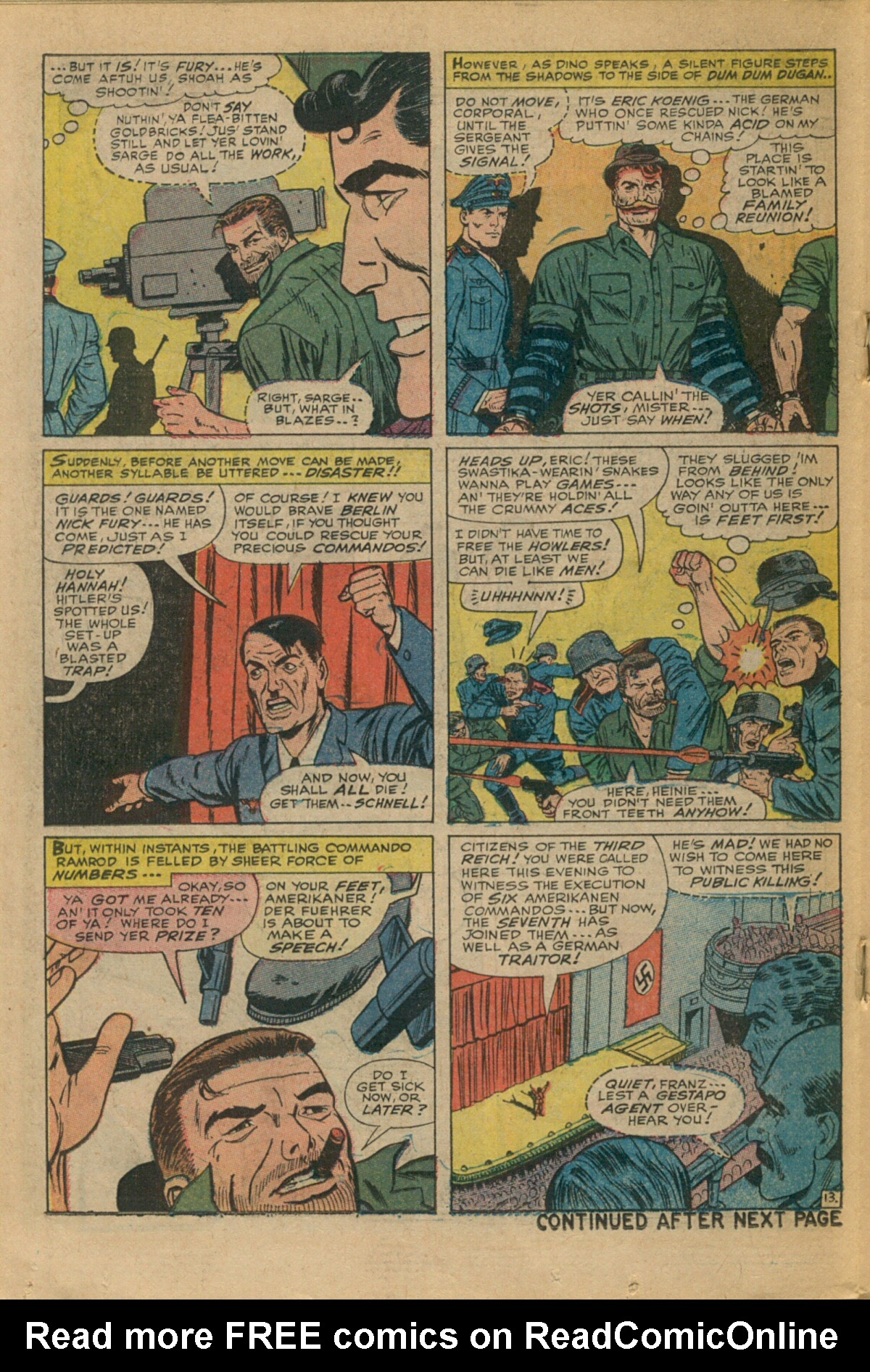 Read online Sgt. Fury comic -  Issue #35 - 18