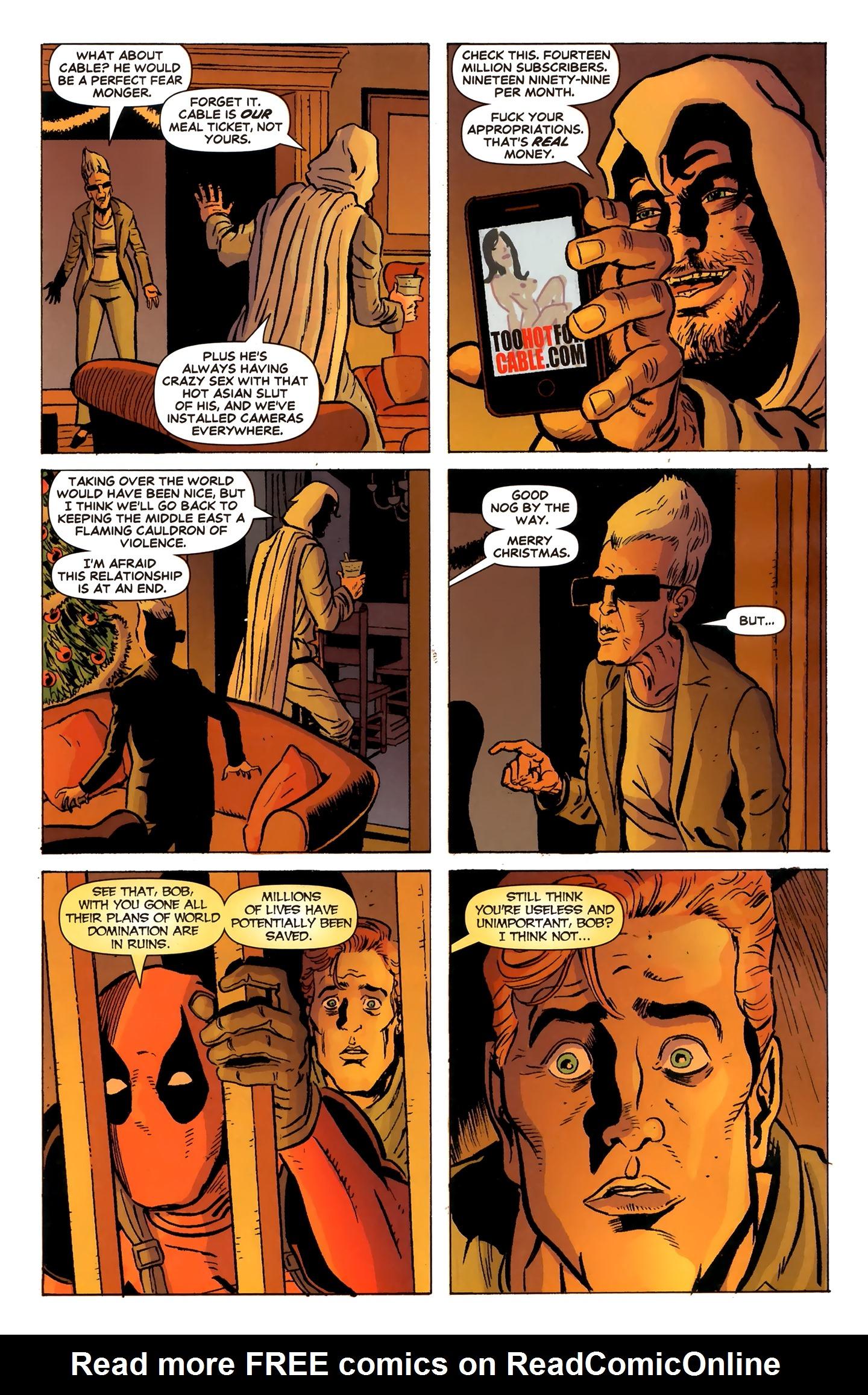 Read online Deadpool MAX X-Mas Special comic -  Issue # Full - 12
