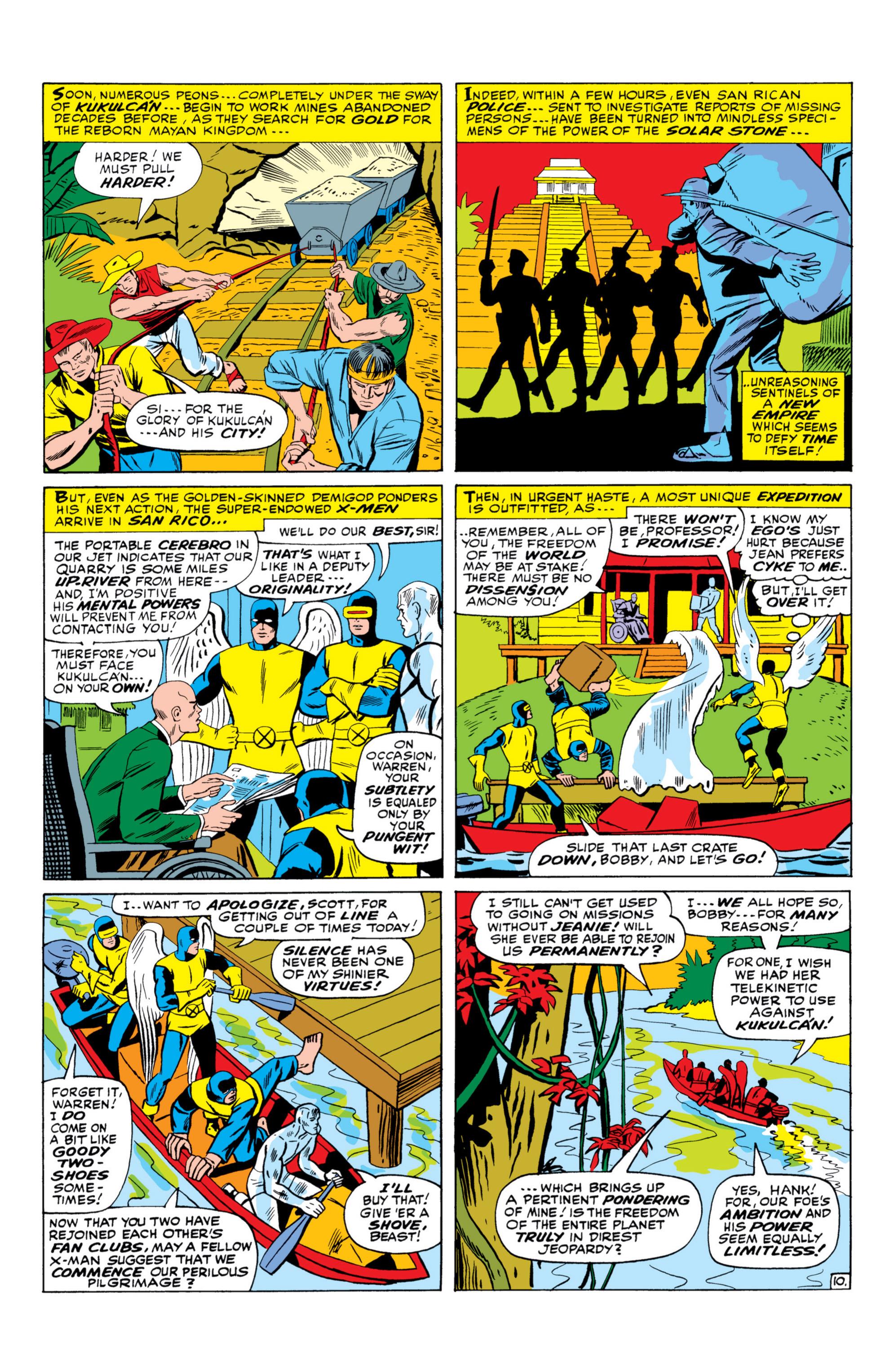 Read online Uncanny X-Men (1963) comic -  Issue #26 - 11
