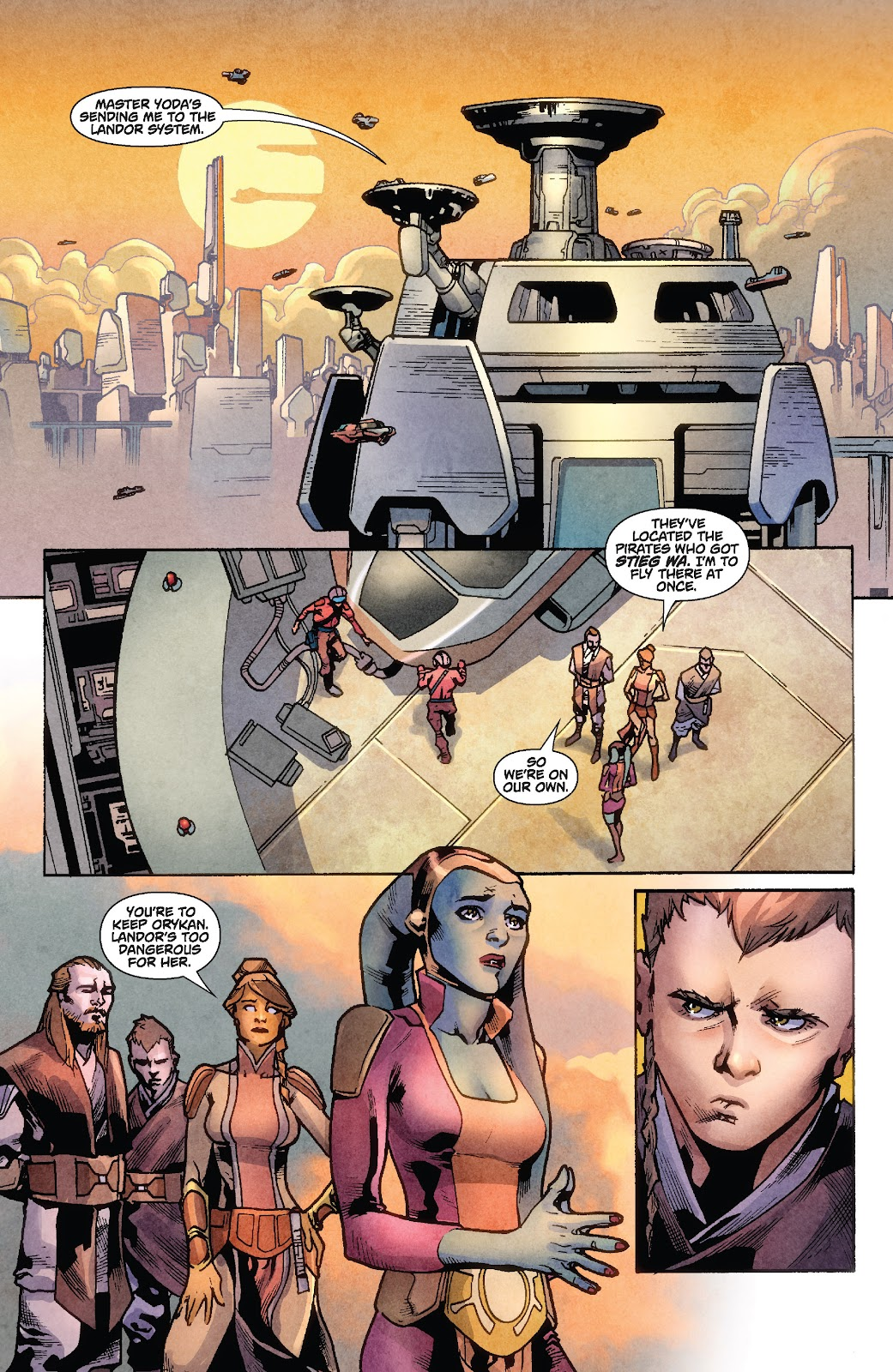Read online Star Wars Legends: Rise of the Sith - Epic Collection comic -  Issue # TPB 1 (Part 2) - 54