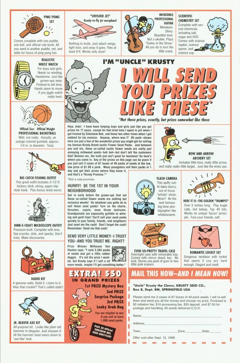 Read online Simpsons Comics comic -  Issue #41 - 28