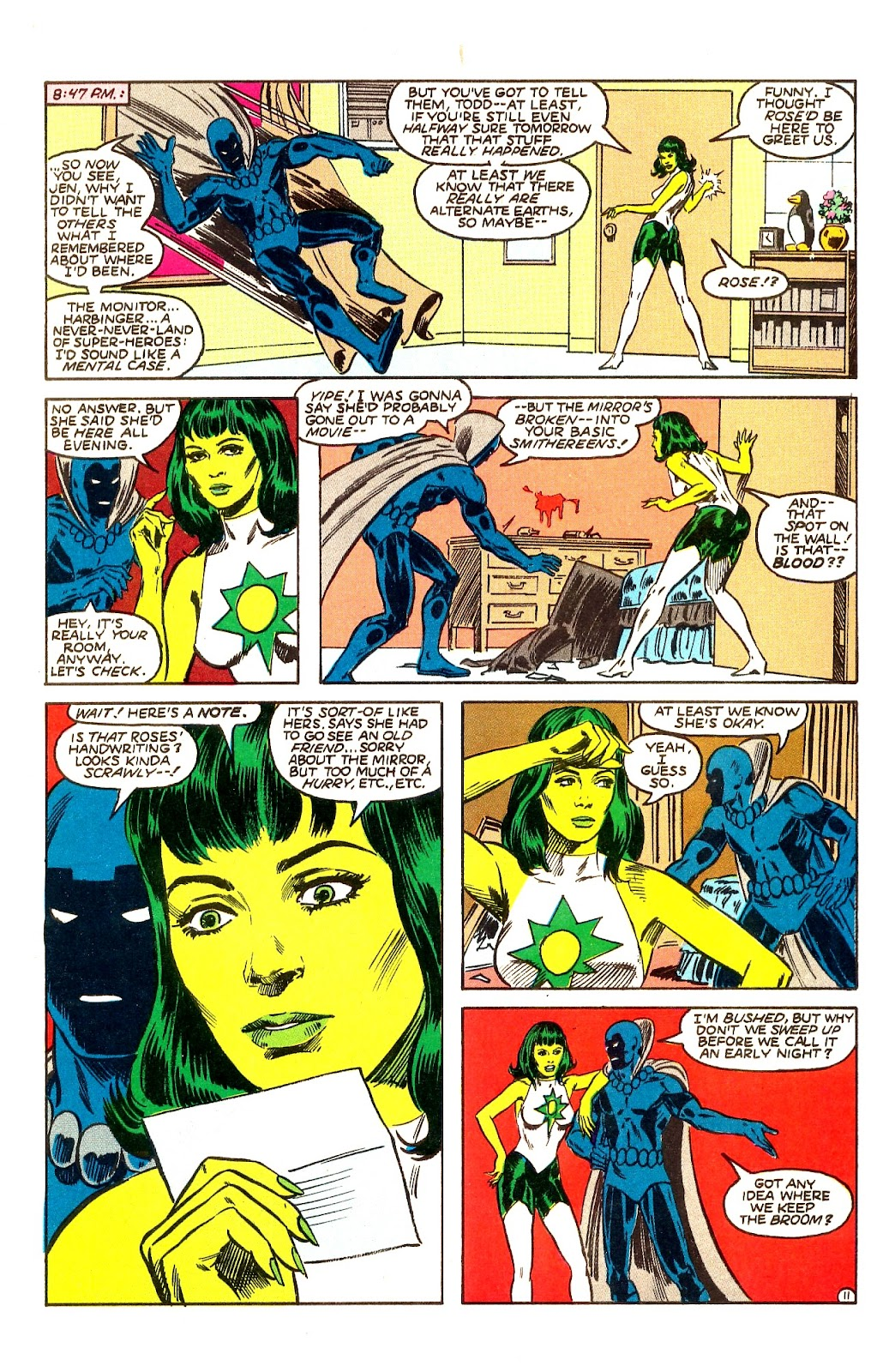Infinity Inc. (1984) issue Annual 1 - Page 14