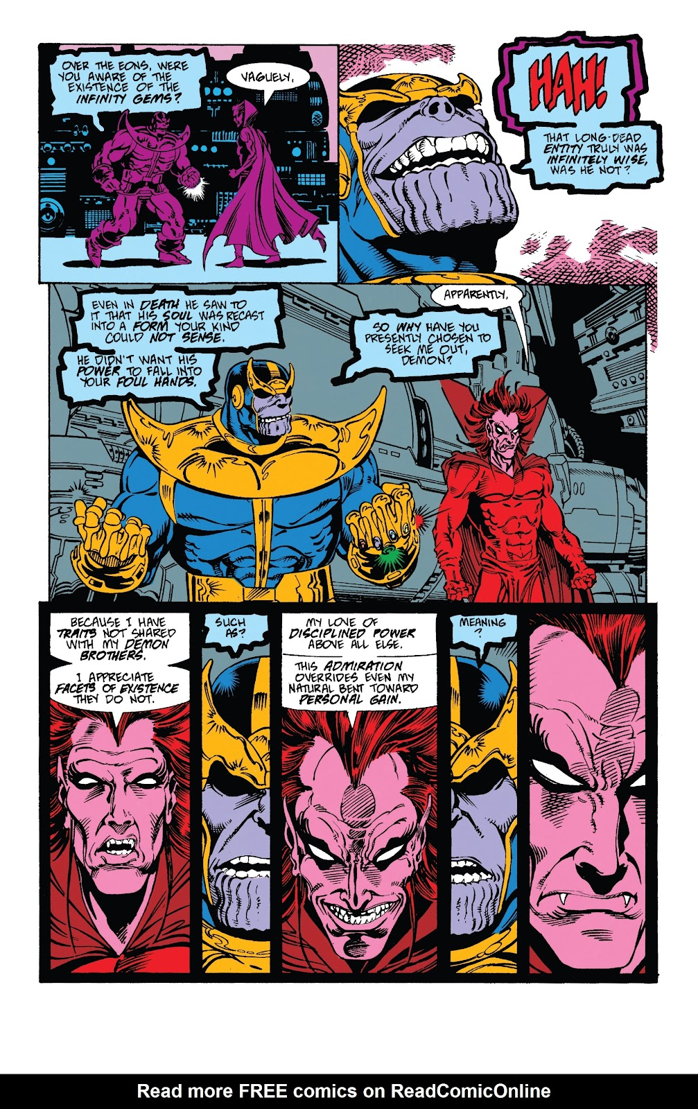 Read online Marvel Tales: Thanos comic -  Issue # Full - 37