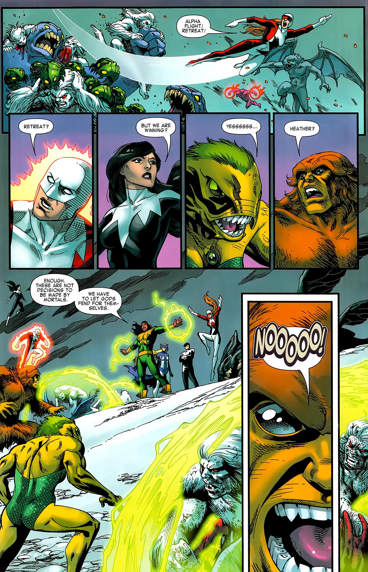 Read online Chaos War: Alpha Flight comic -  Issue # Full - 18