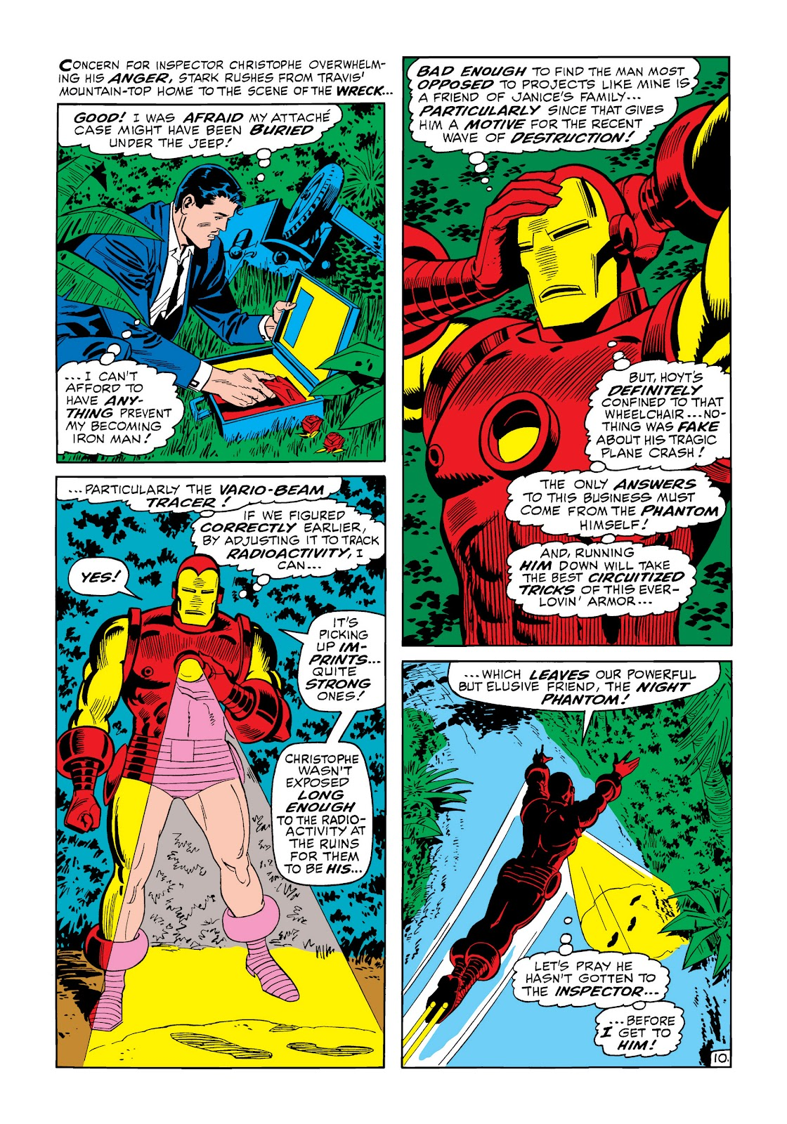 Read online Marvel Masterworks: The Invincible Iron Man comic -  Issue # TPB 6 (Part 1) - 16