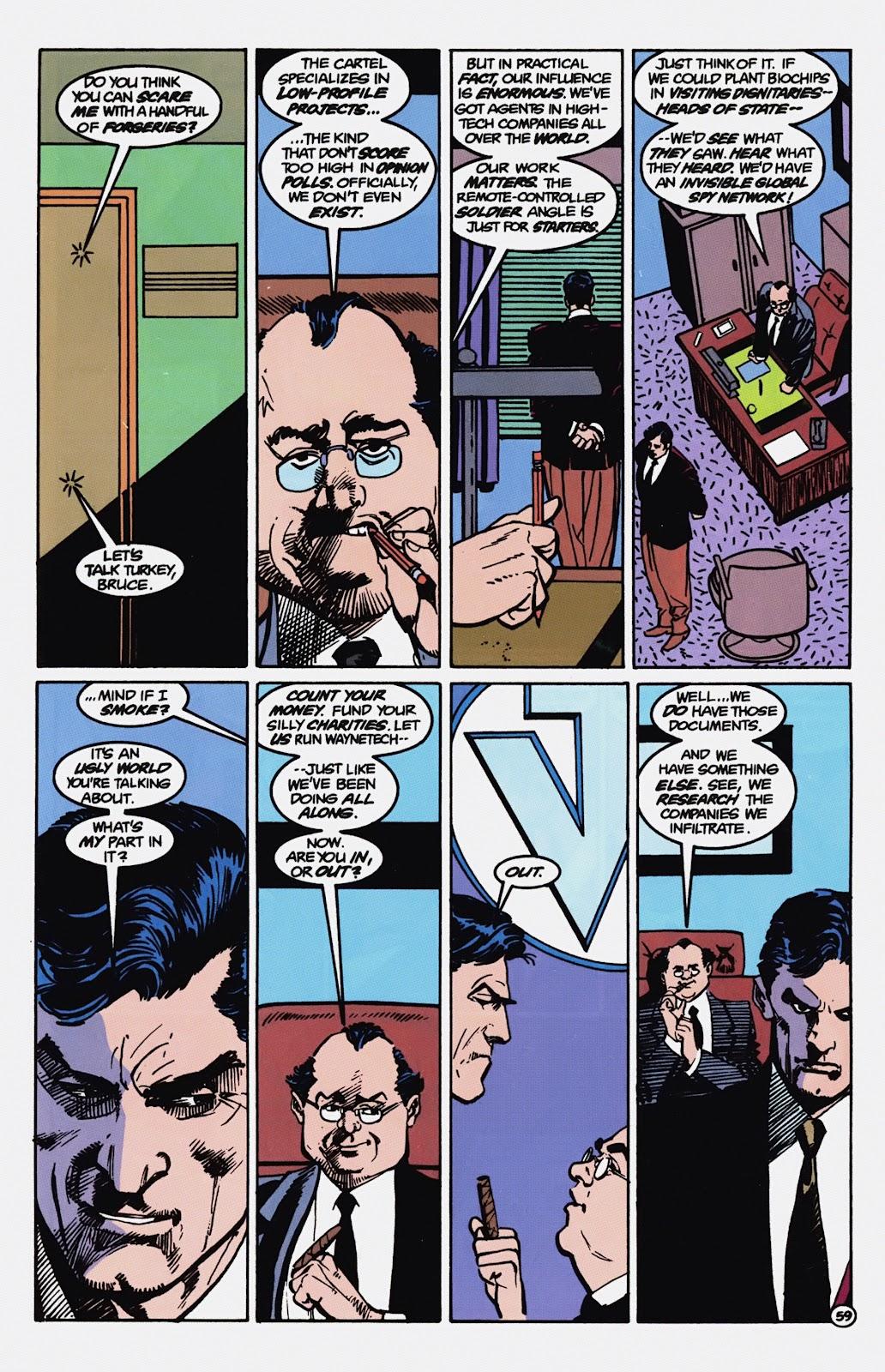 Read online Detective Comics (1937) comic -  Issue # _TPB Batman - Blind Justice (Part 1) - 64