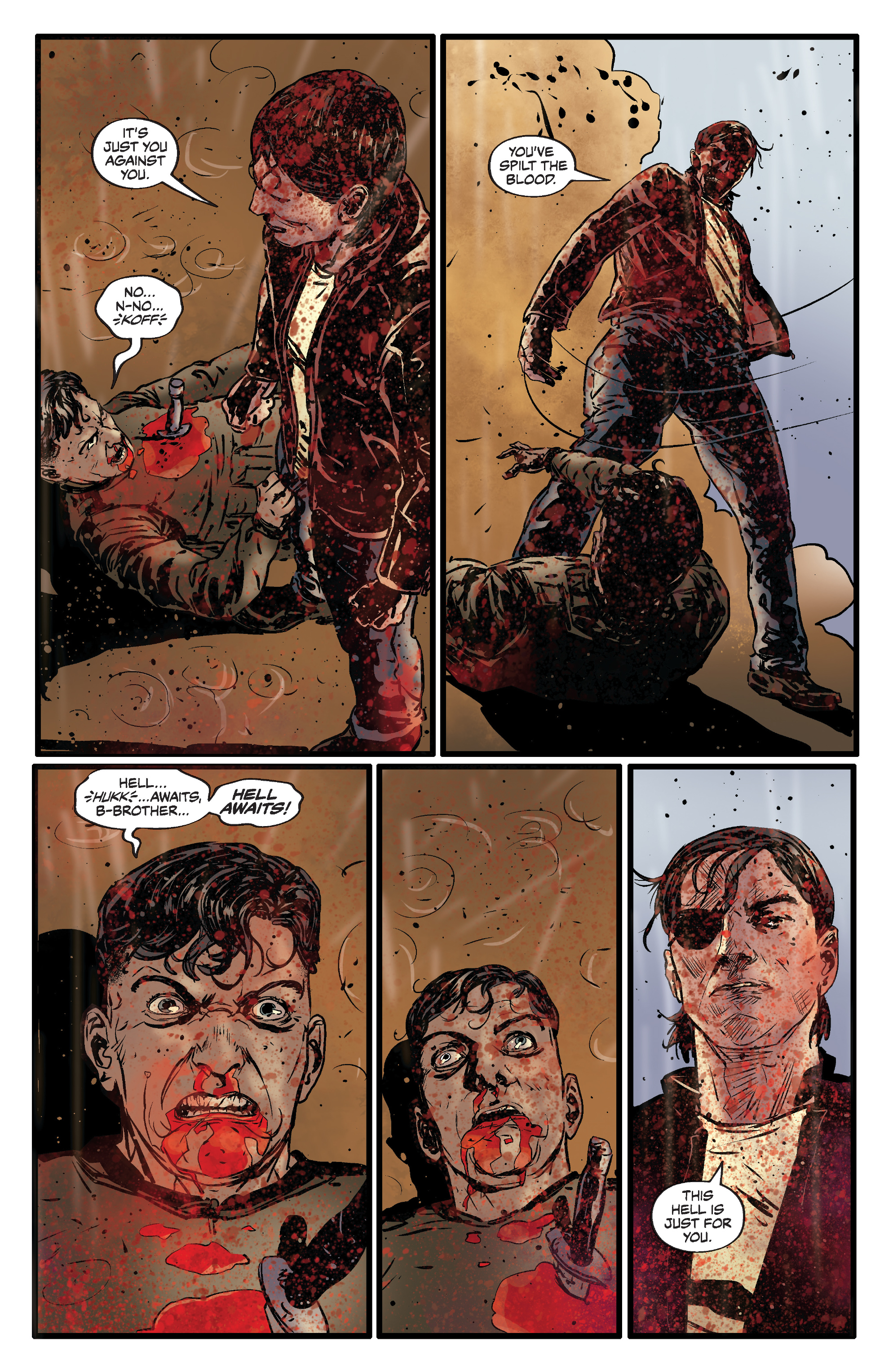 Read online Slayer: Repentless comic -  Issue #3 - 22