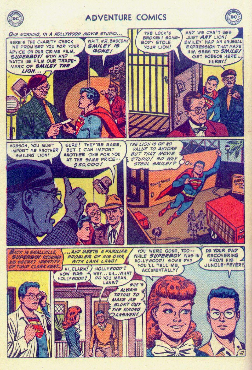 Read online Adventure Comics (1938) comic -  Issue #201 - 4