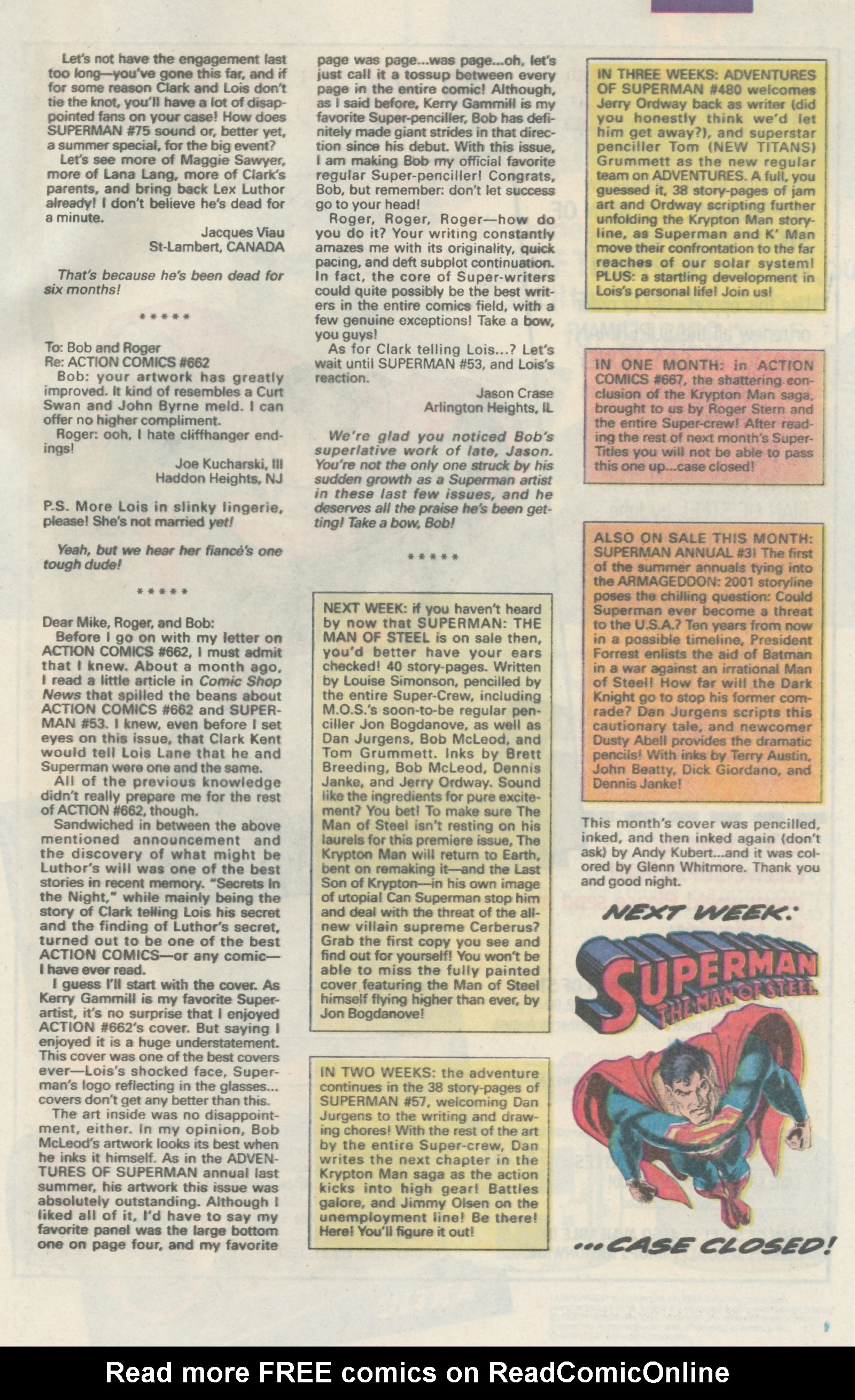 Read online Action Comics (1938) comic -  Issue #666 - 32