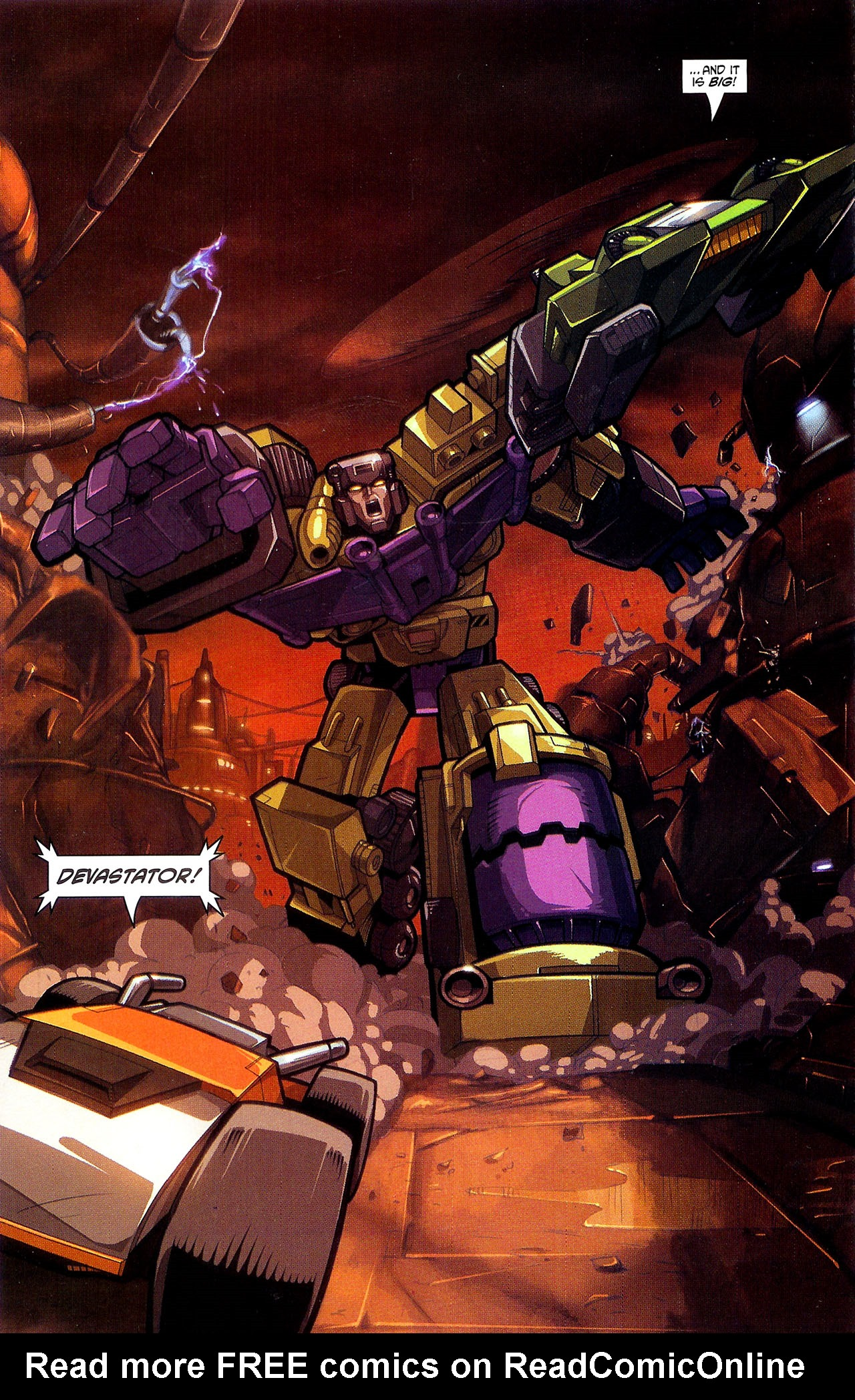 """Read online Transformers War Within: """"The Dark Ages"""" comic -  Issue #2 - 9"""
