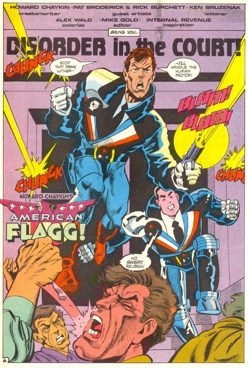 Read online American Flagg! comic -  Issue #14 - 7