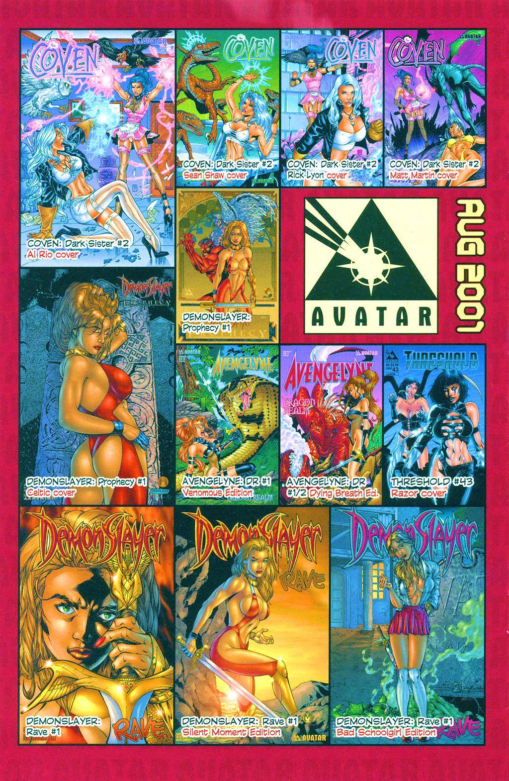 Read online Avengelyne: Dragon Realm comic -  Issue #1 - 29