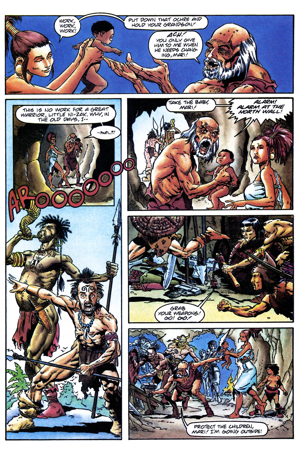 Read online Turok, Dinosaur Hunter (1993) comic -  Issue #24 - 10