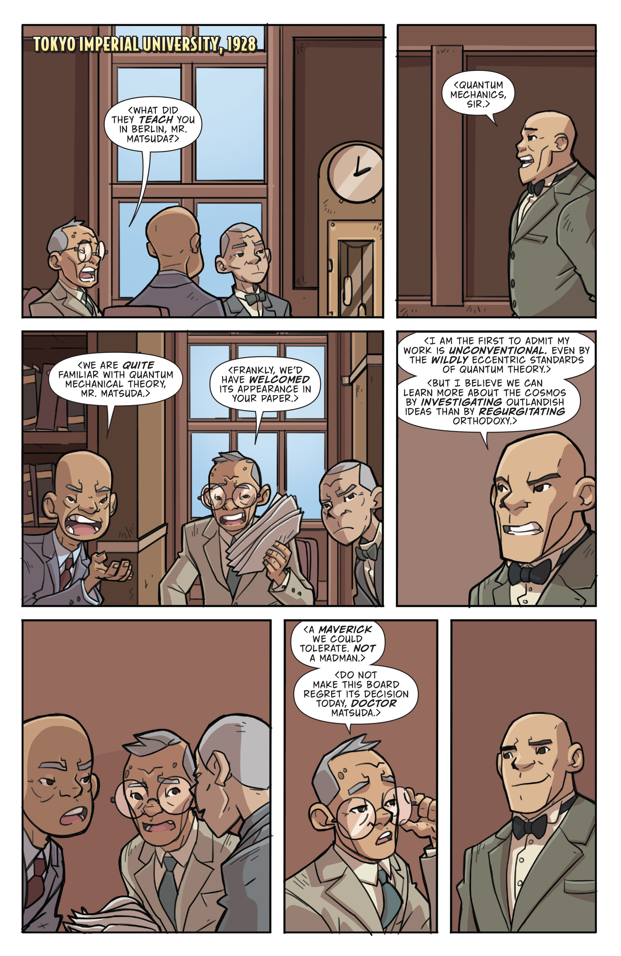 Read online Atomic Robo and the Temple of Od comic -  Issue #4 - 4