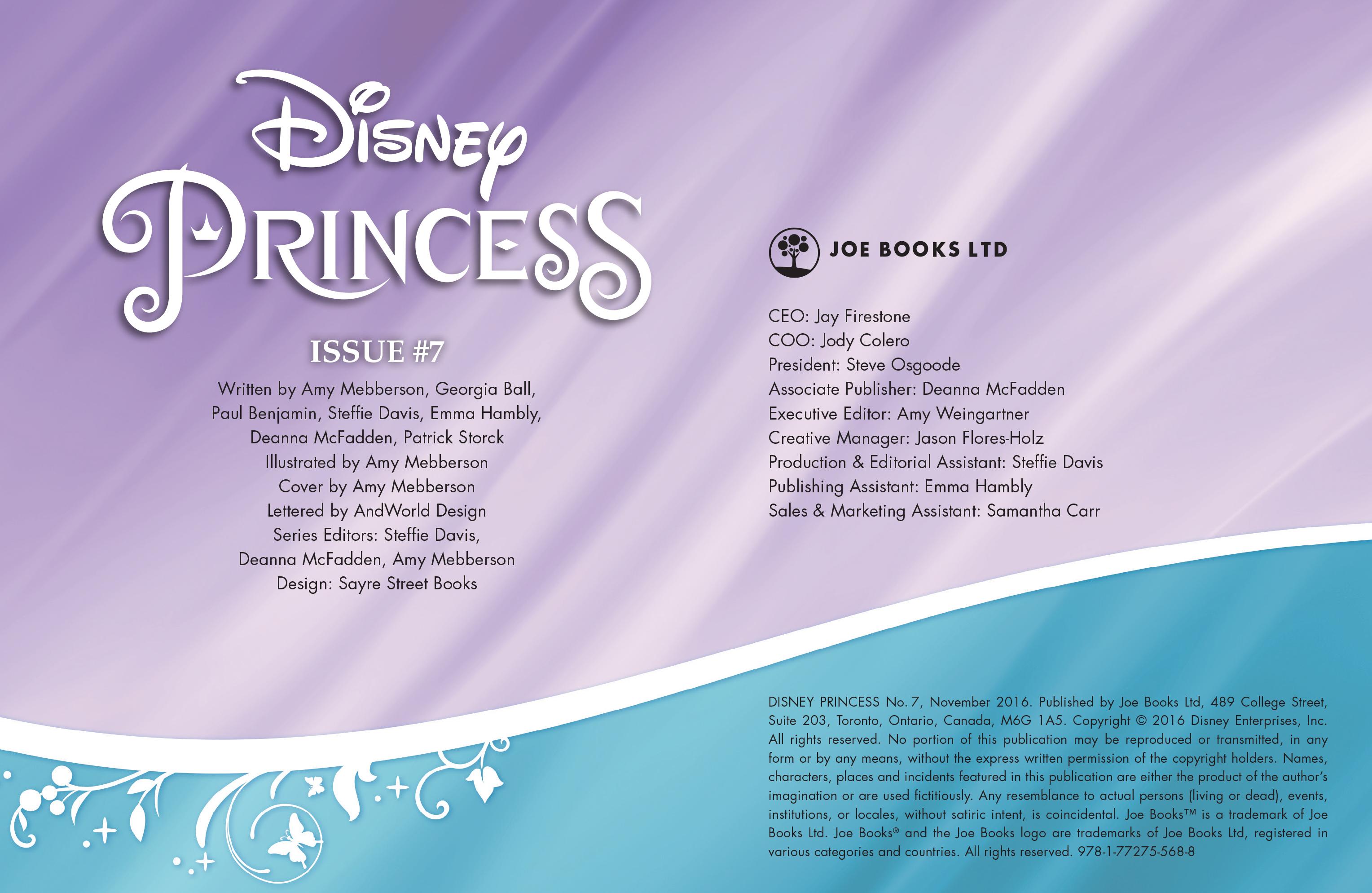 Read online Disney Princess comic -  Issue #7 - 2