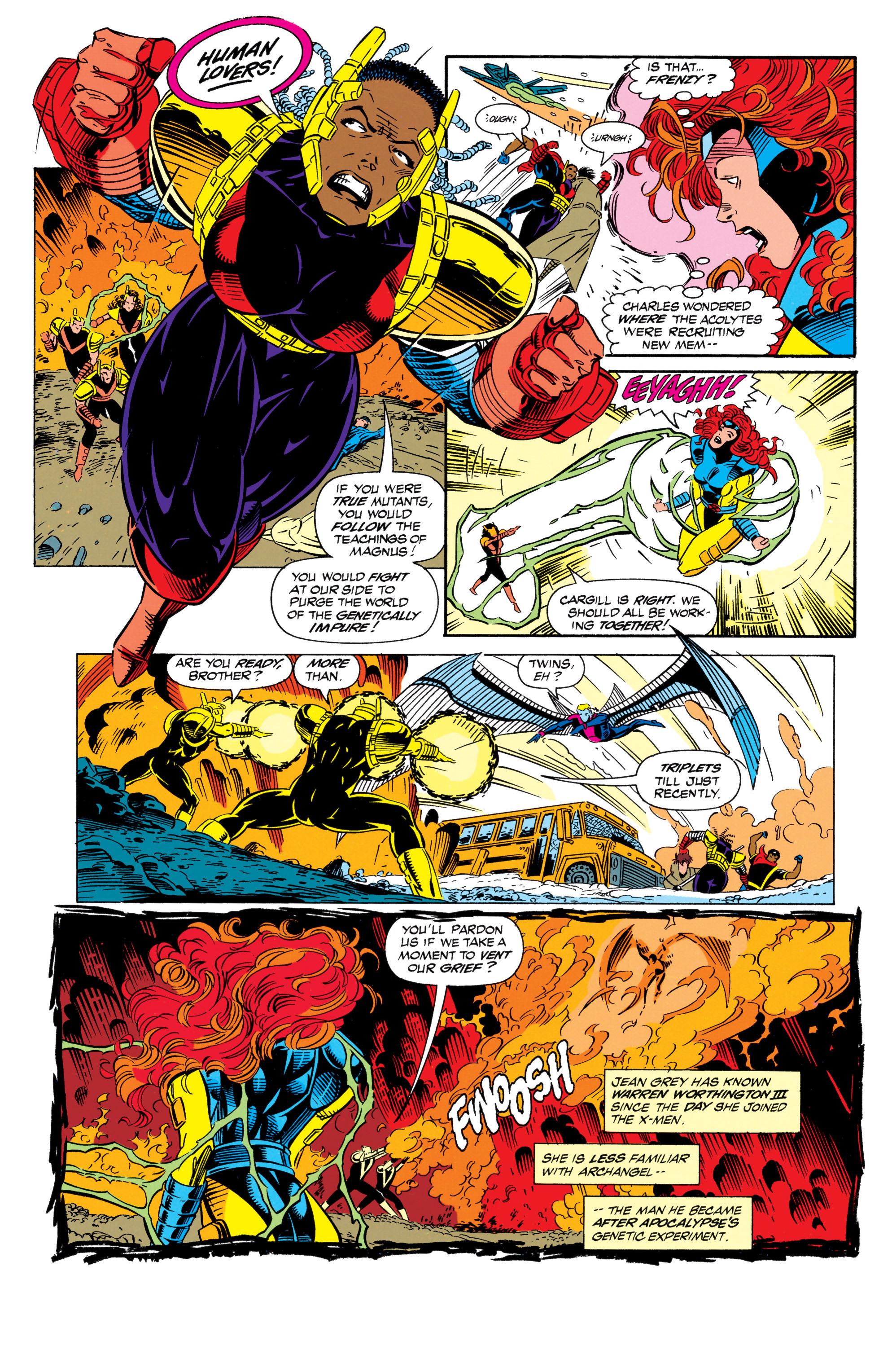 Read online Uncanny X-Men (1963) comic -  Issue #298 - 15