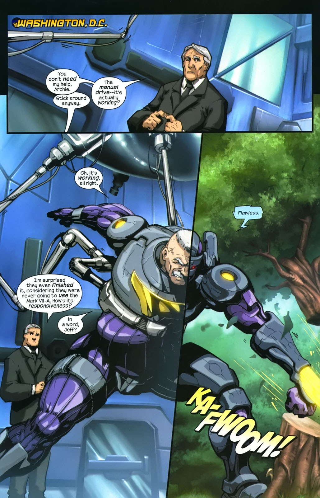 Read online Sentinel (2006) comic -  Issue #4 - 6