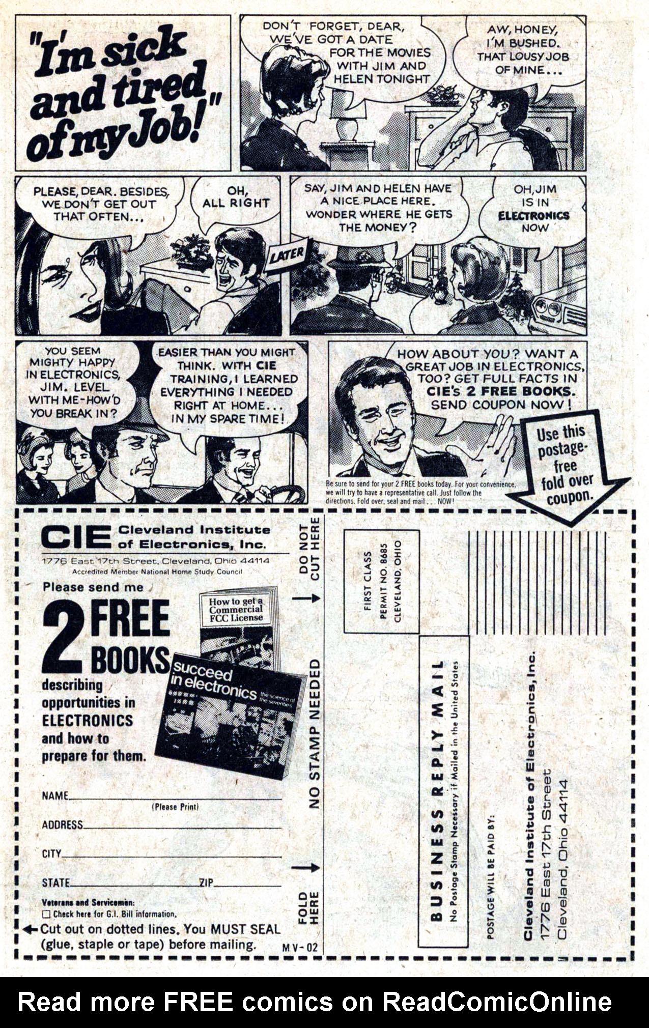 Read online Amazing Adventures (1970) comic -  Issue #23 - 22