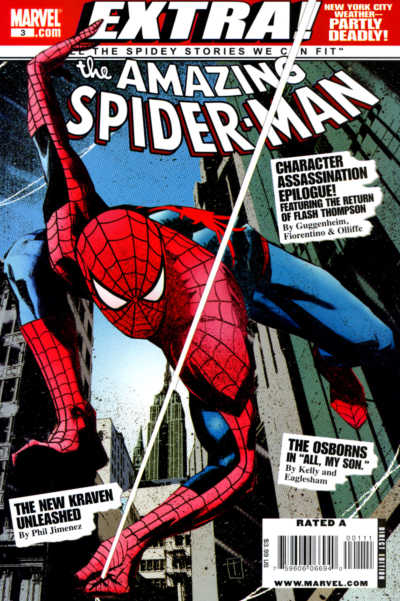 Amazing Spider-Man: Extra! 3 Page 1