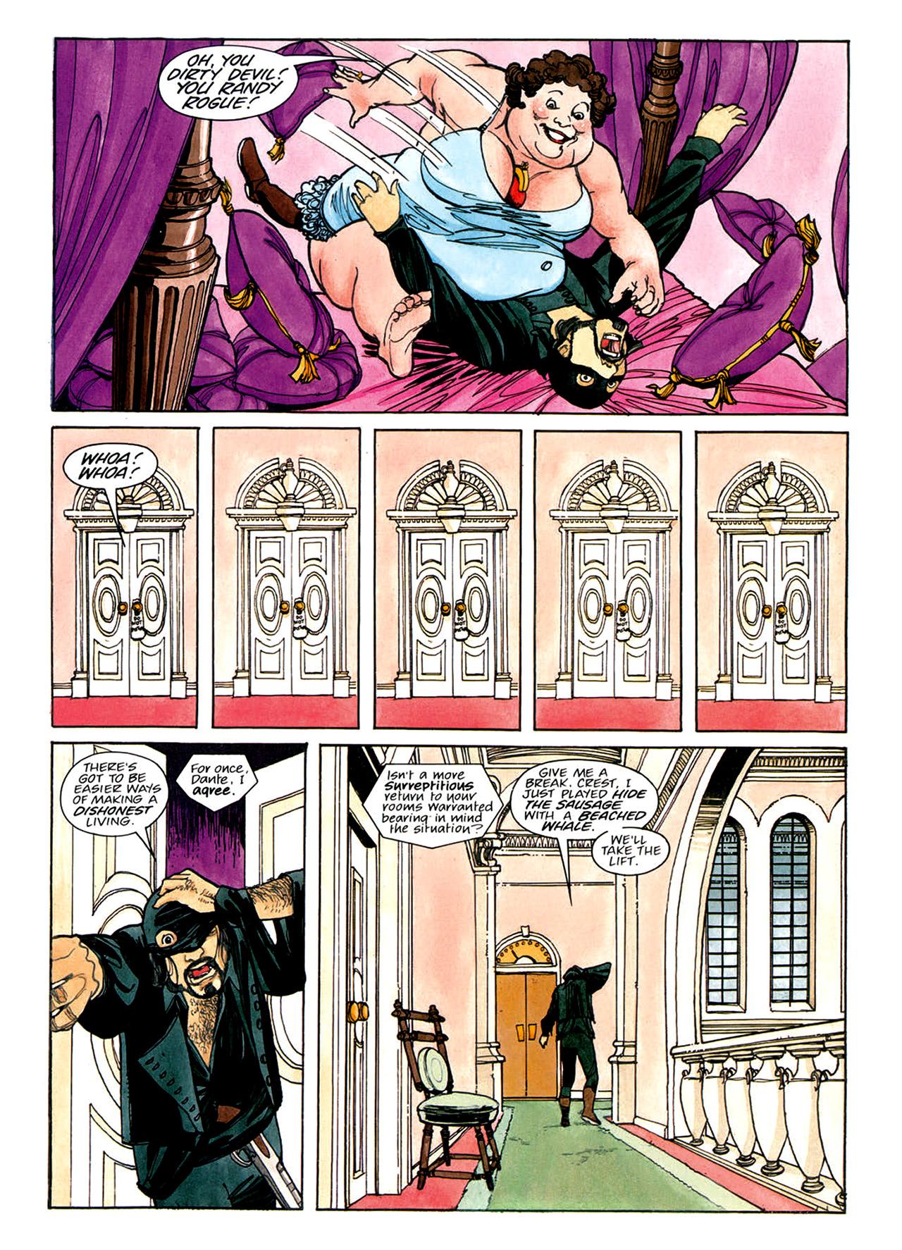 Read online Nikolai Dante comic -  Issue # TPB 1 - 111