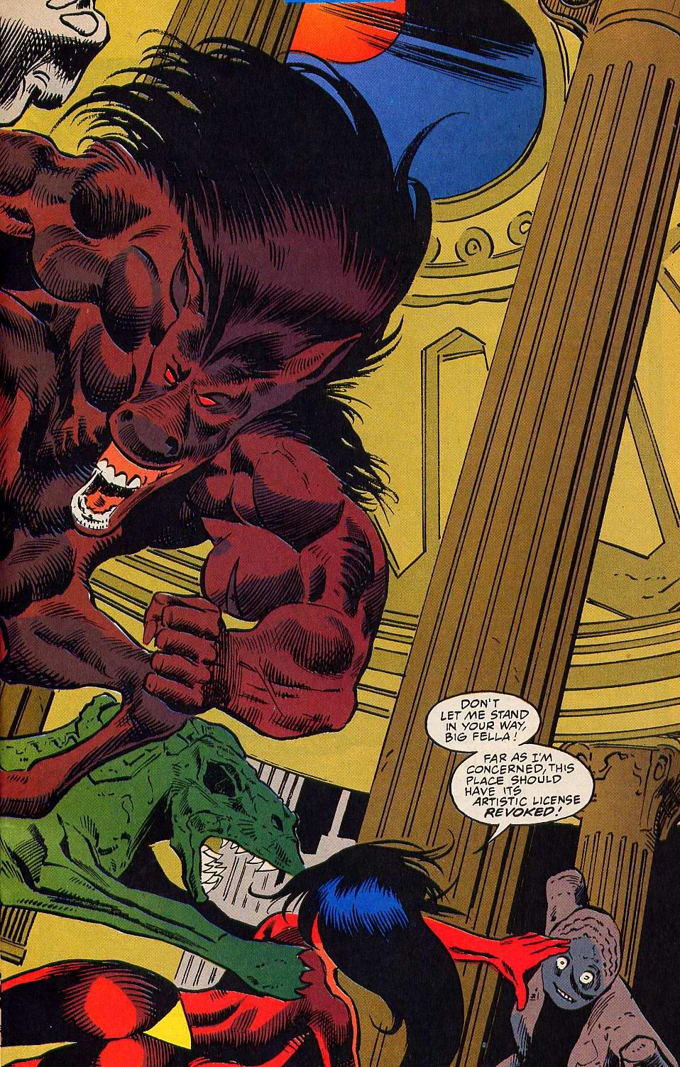 Read online Secret Defenders comic -  Issue #15 - 21