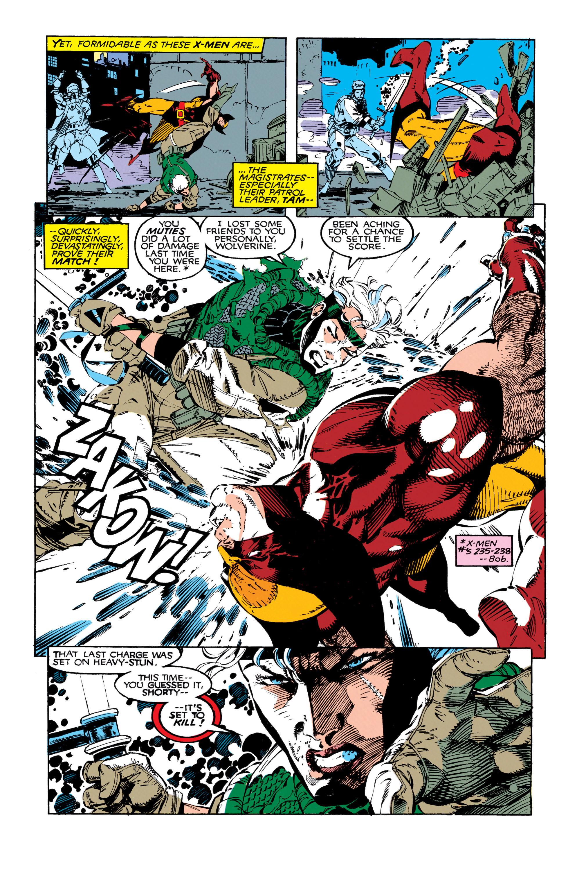 Read online Uncanny X-Men (1963) comic -  Issue #271 - 6