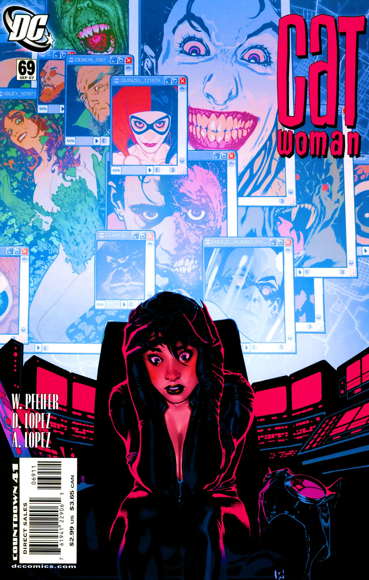 Read online Catwoman (2002) comic -  Issue #69 - 1