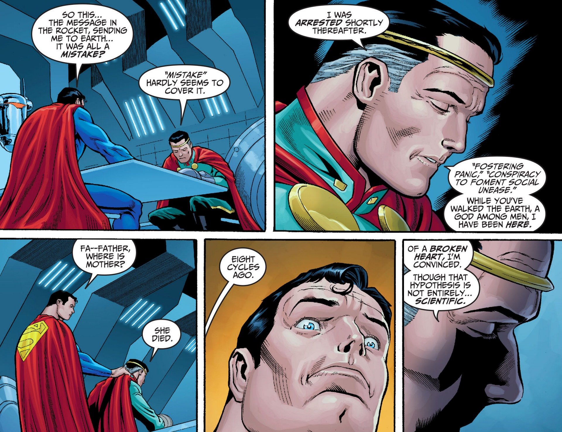 Read online Adventures of Superman [I] comic -  Issue #23 - 12