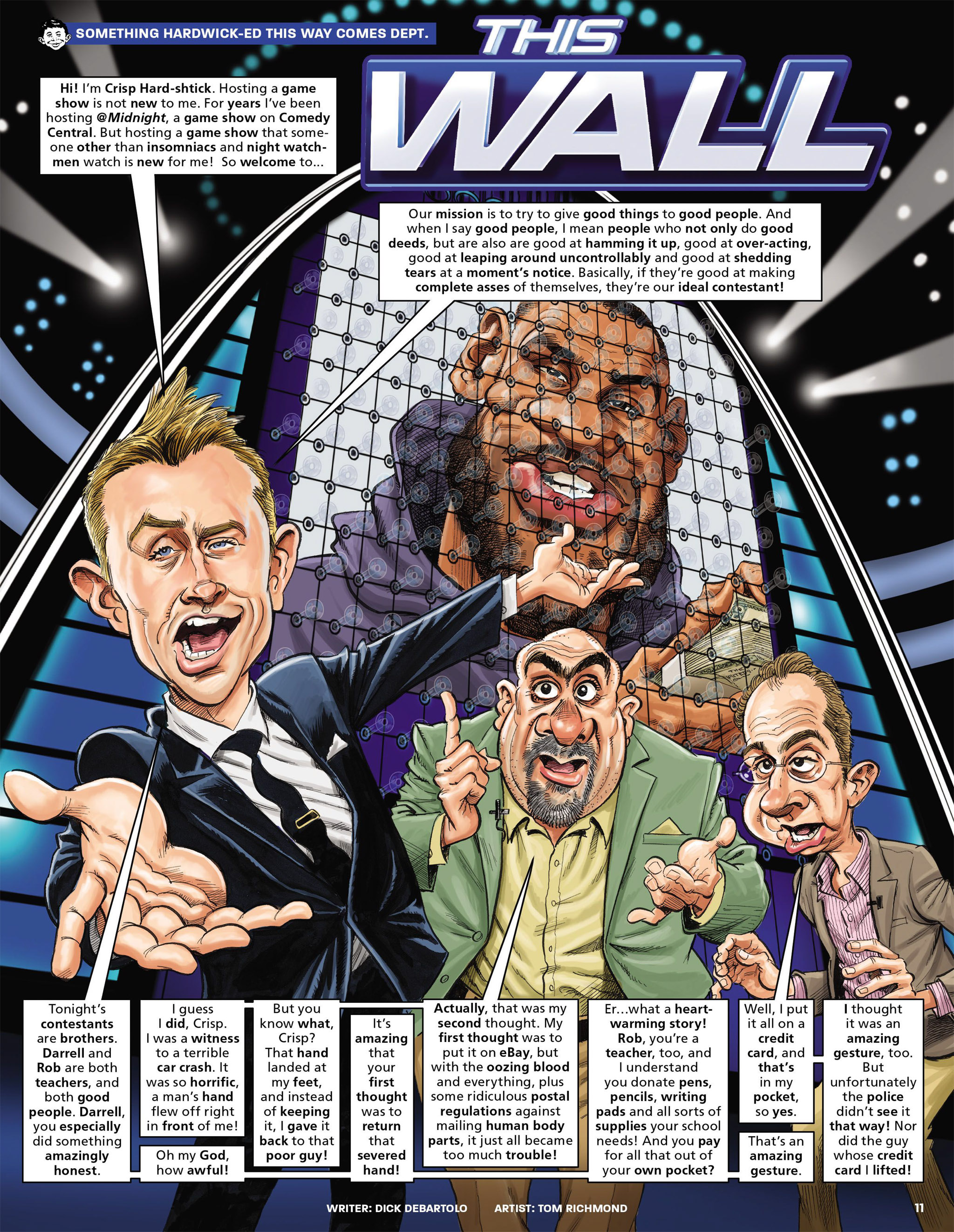Read online MAD comic -  Issue #546 - 11