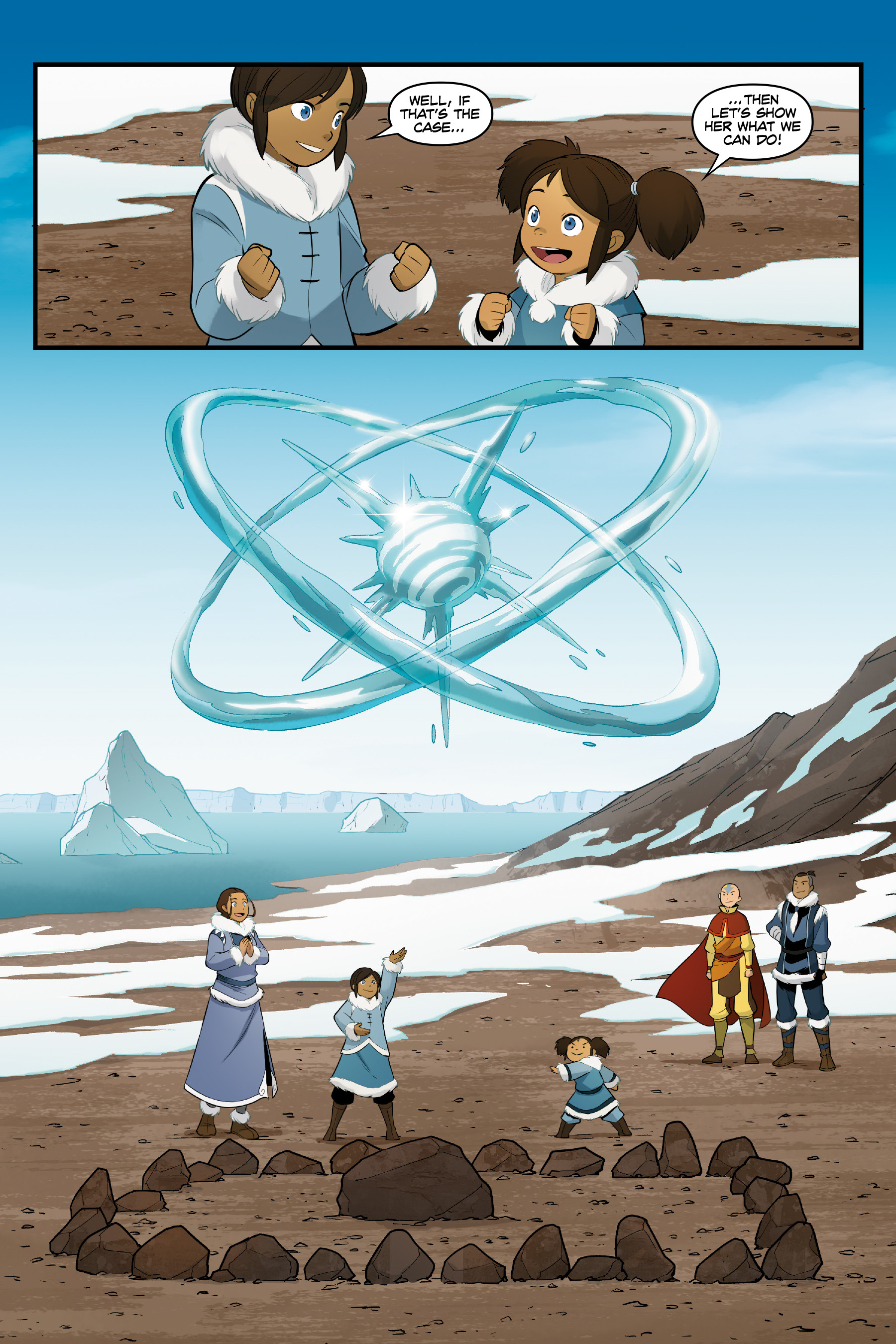 Read online Nickelodeon Avatar: The Last Airbender - North and South comic -  Issue #3 - 72