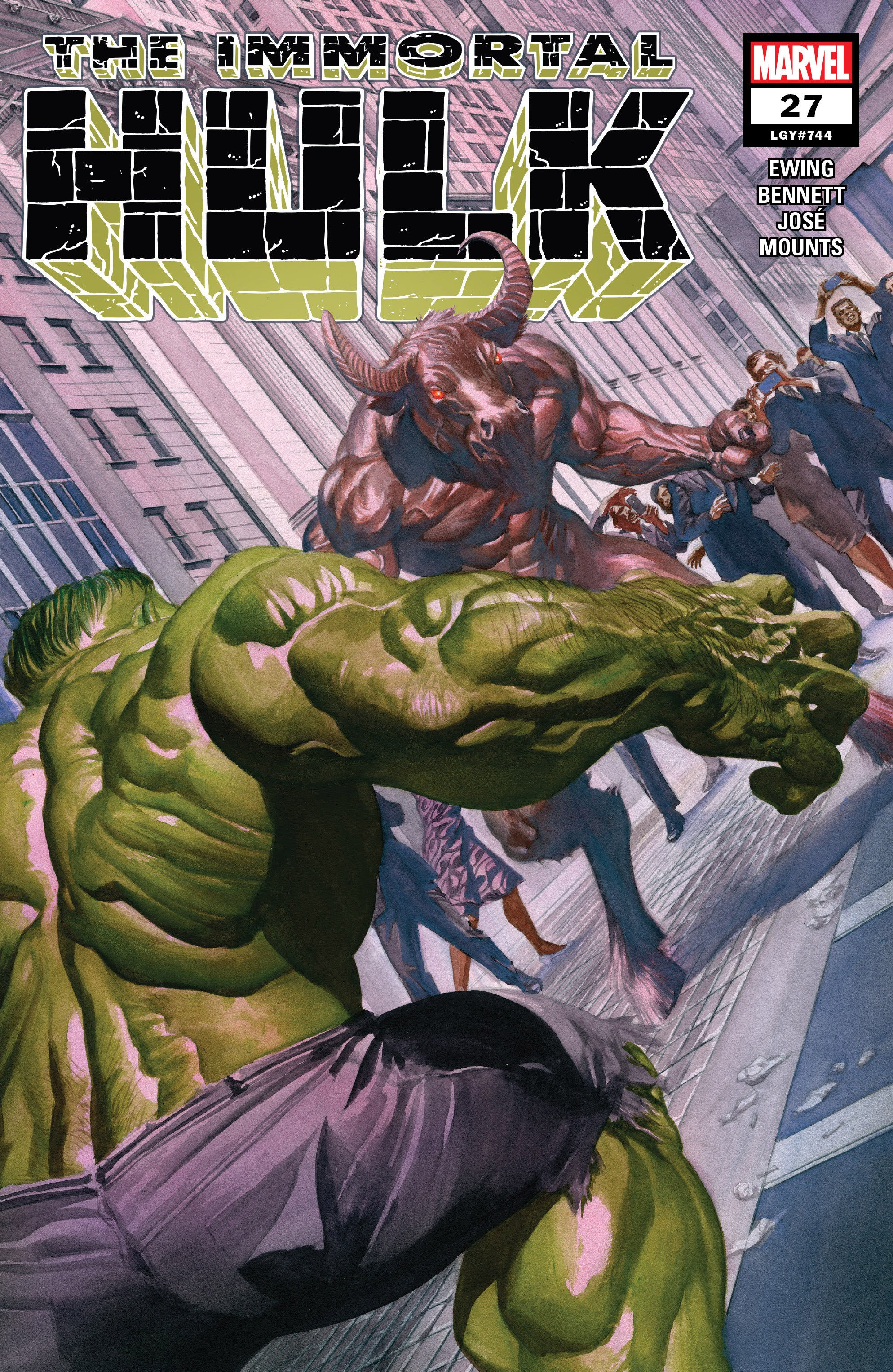 Immortal Hulk (2018) issue 27 - Page 1