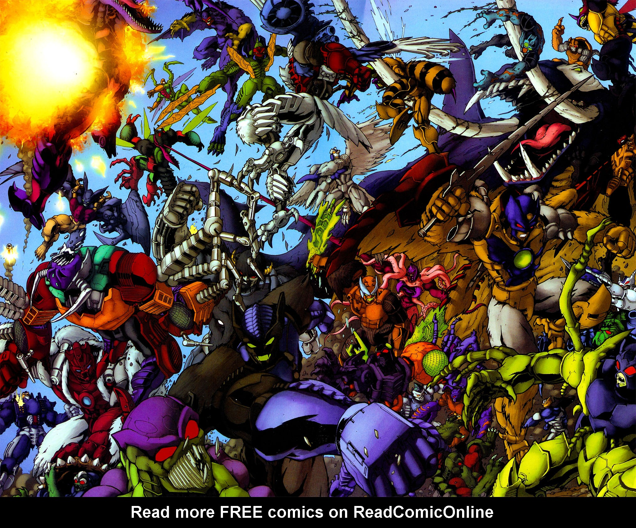 Read online Transformers, Beast Wars: The Gathering comic -  Issue #4 - 21