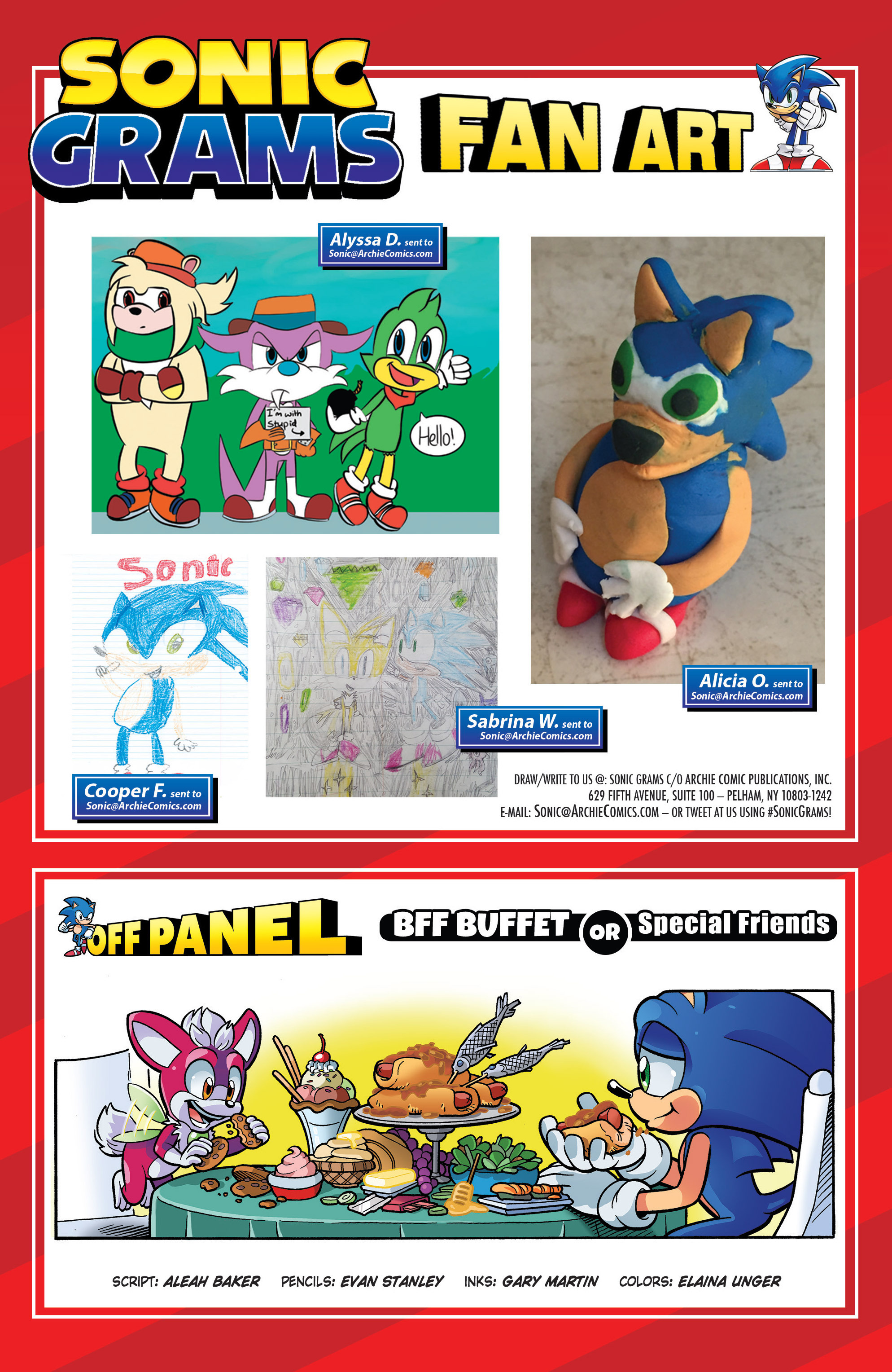Read online Sonic The Hedgehog comic -  Issue #287 - 23