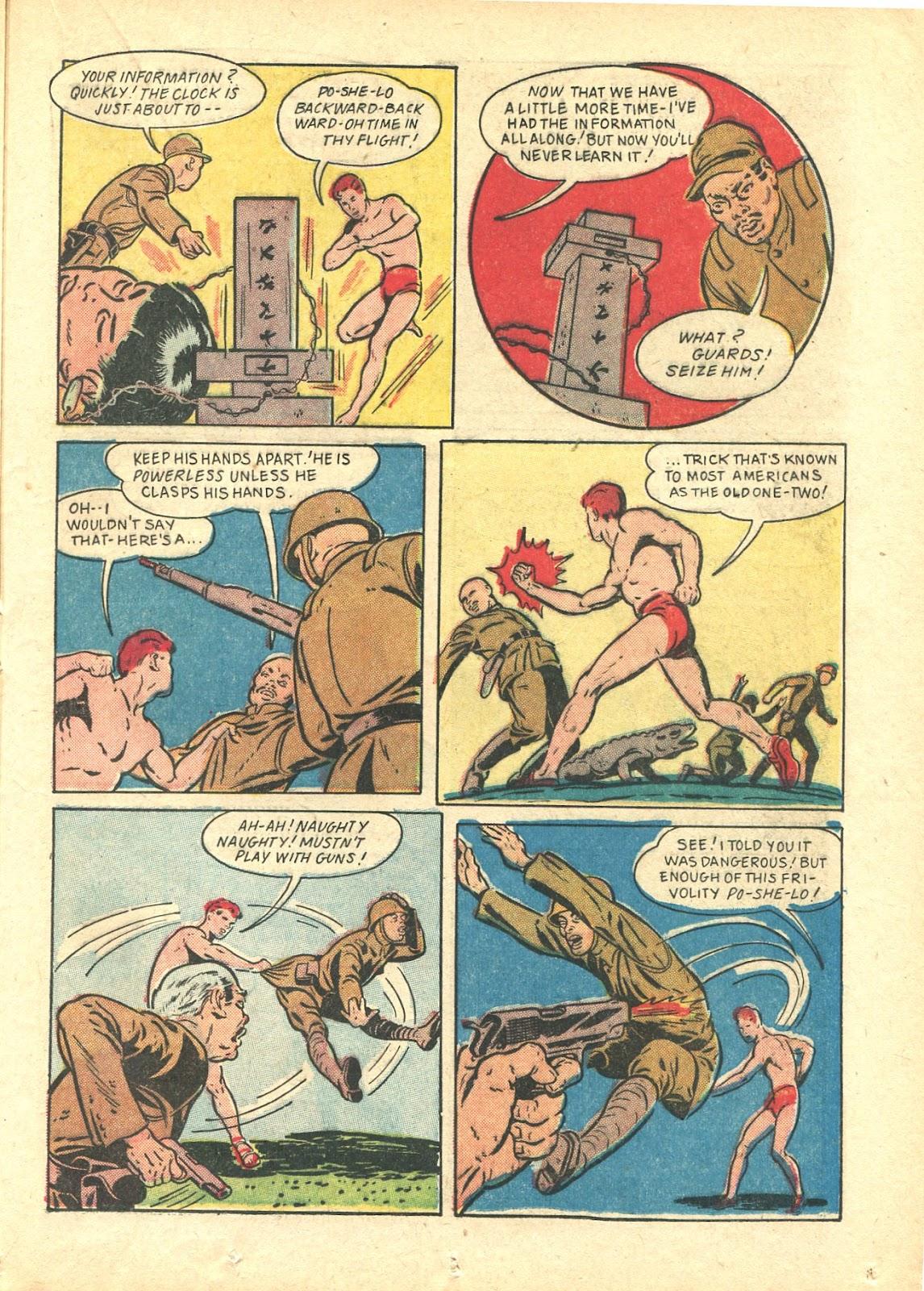 Read online Super-Magician Comics comic -  Issue #21 - 37
