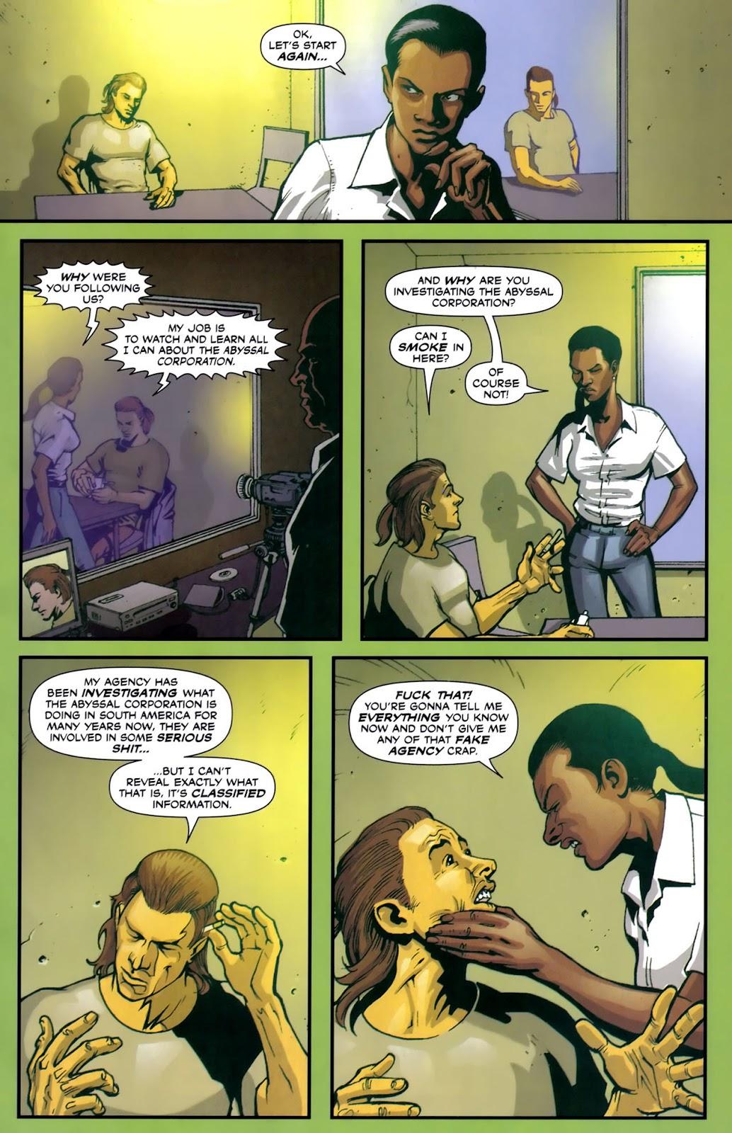 Read online Lazarus (2007) comic -  Issue #2 - 5