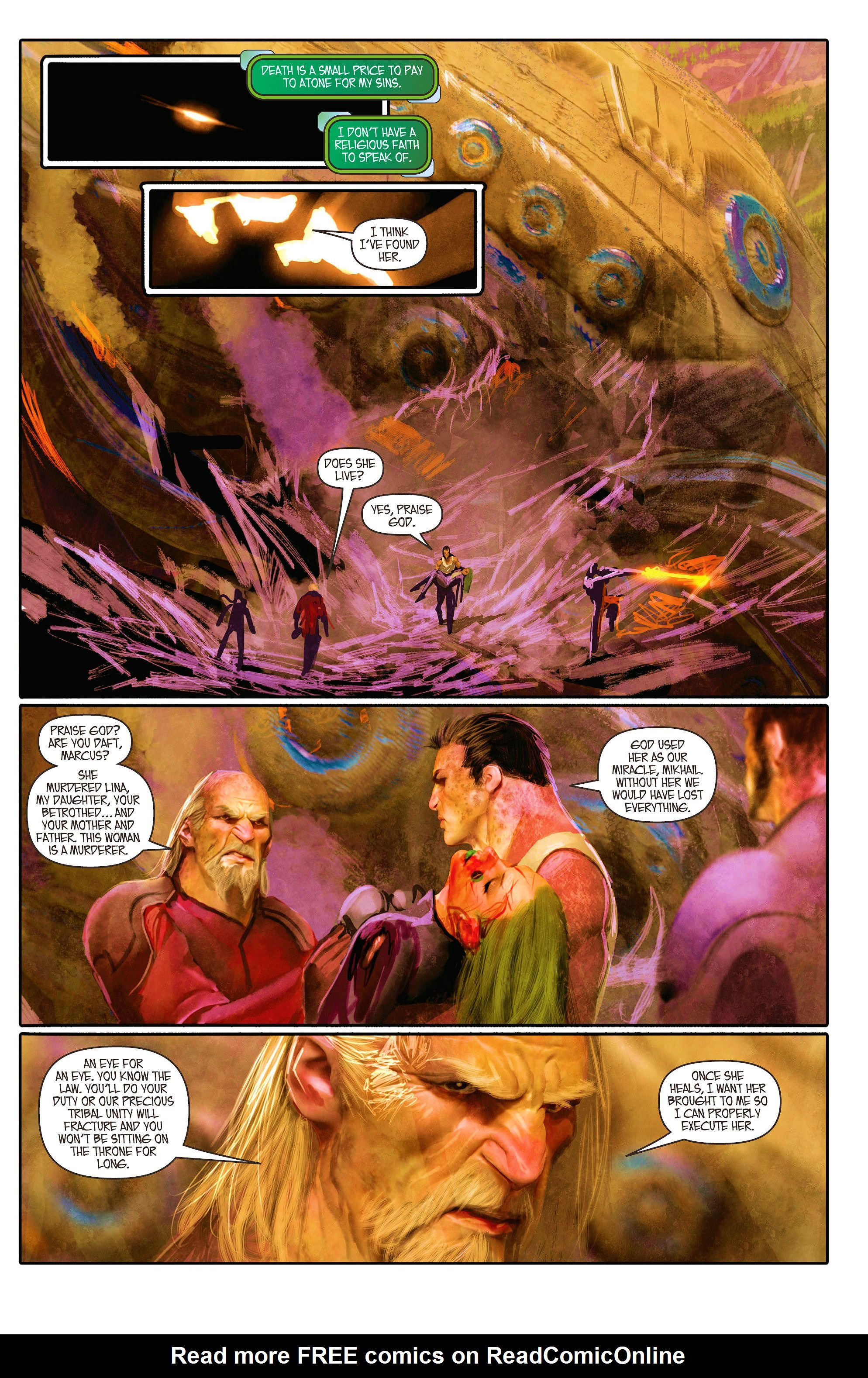 Read online Aphrodite IX (2013) comic -  Issue #5 - 14