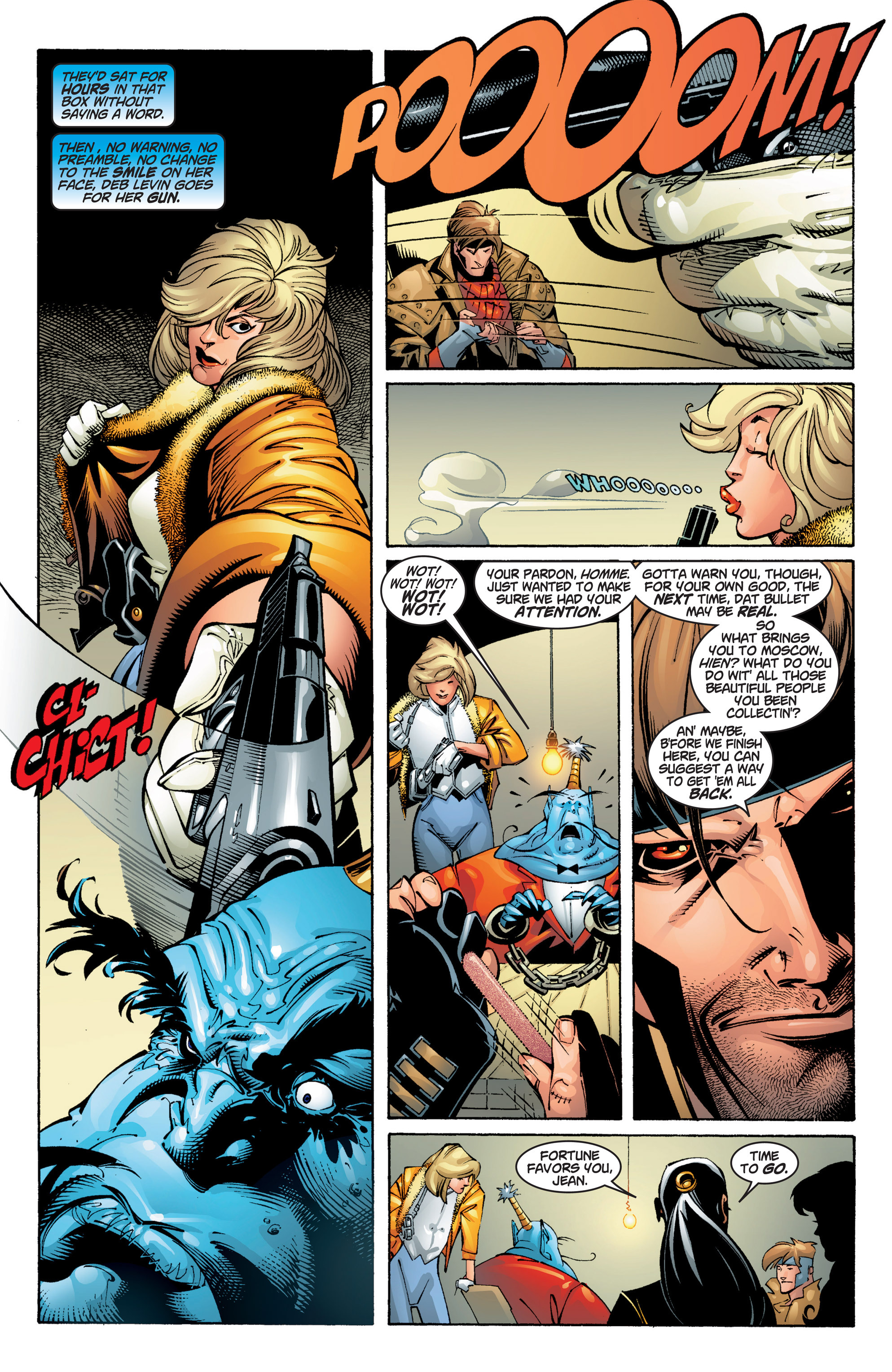 Read online Uncanny X-Men (1963) comic -  Issue #384 - 7