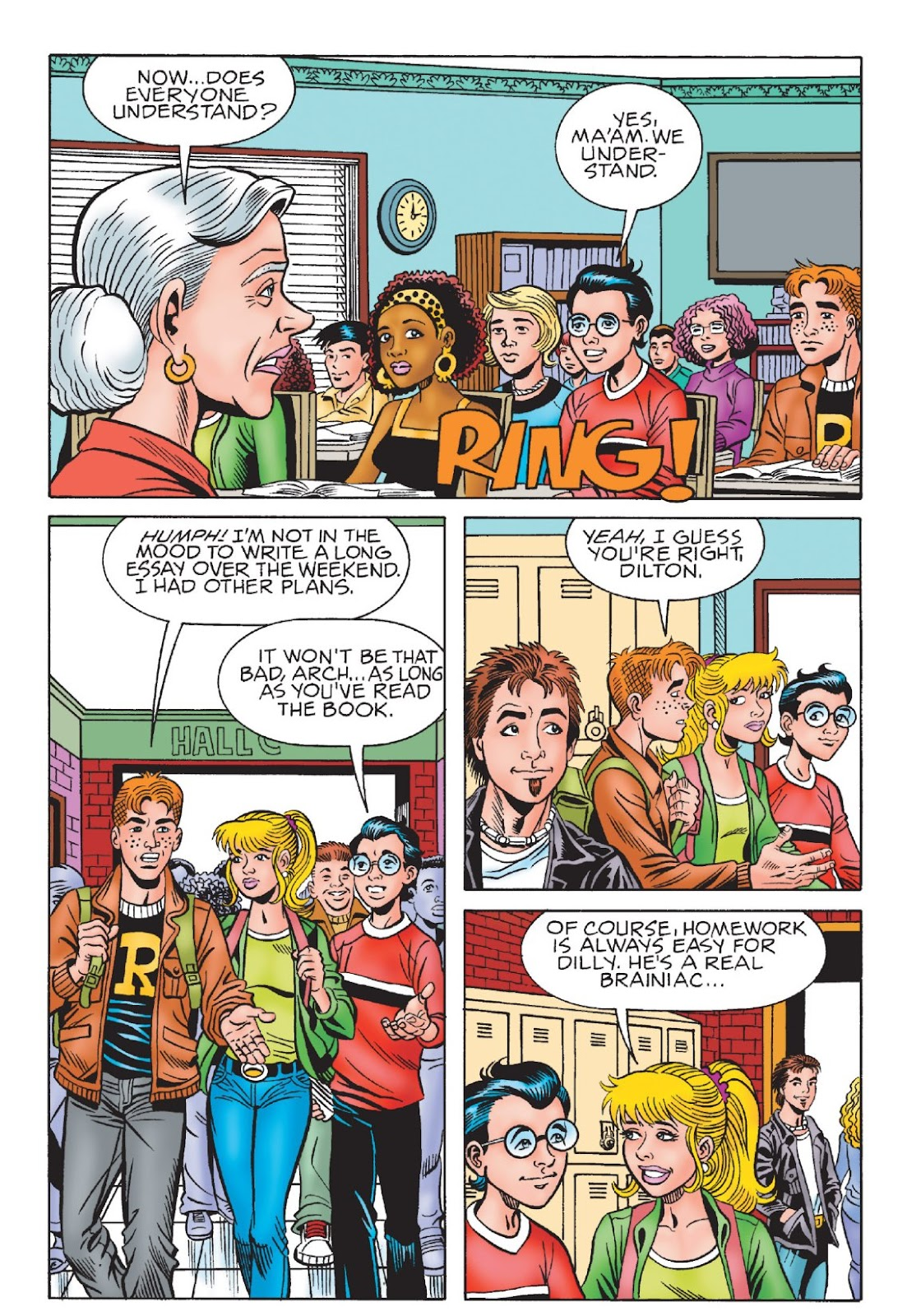 Read online Archie's New Look Series comic -  Issue #1 - 66