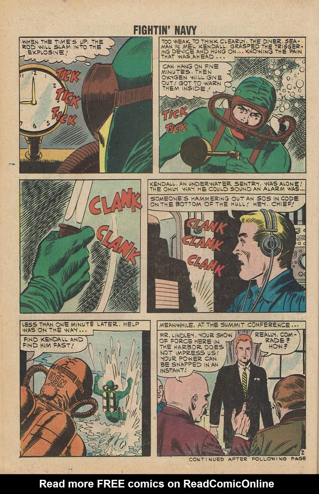 Read online Fightin' Navy comic -  Issue #98 - 14