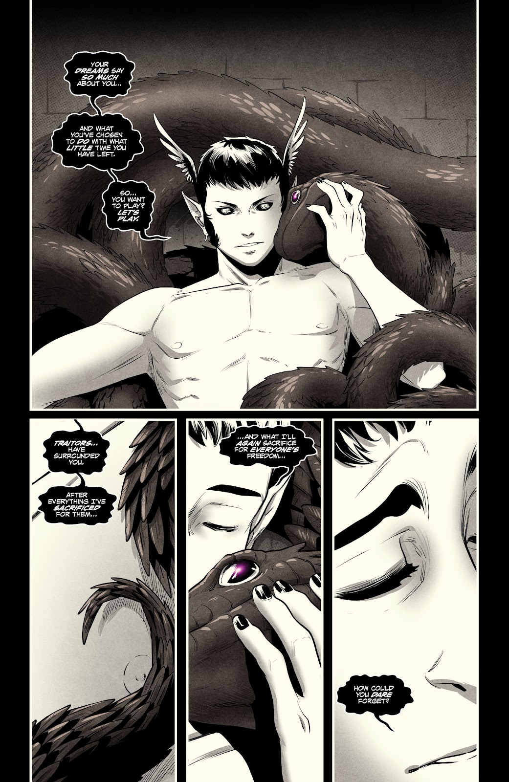 Read online Nomen Omen comic -  Issue #5 - 4
