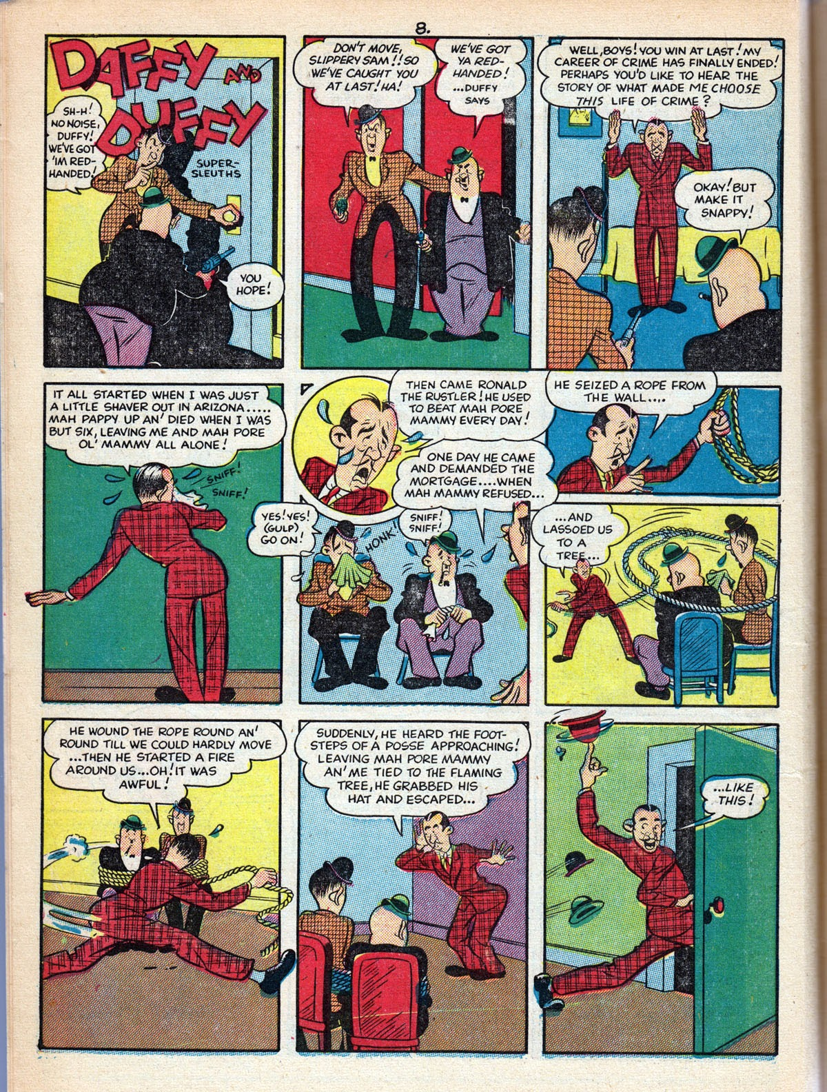 Read online Comedy Comics (1942) comic -  Issue #10 - 10
