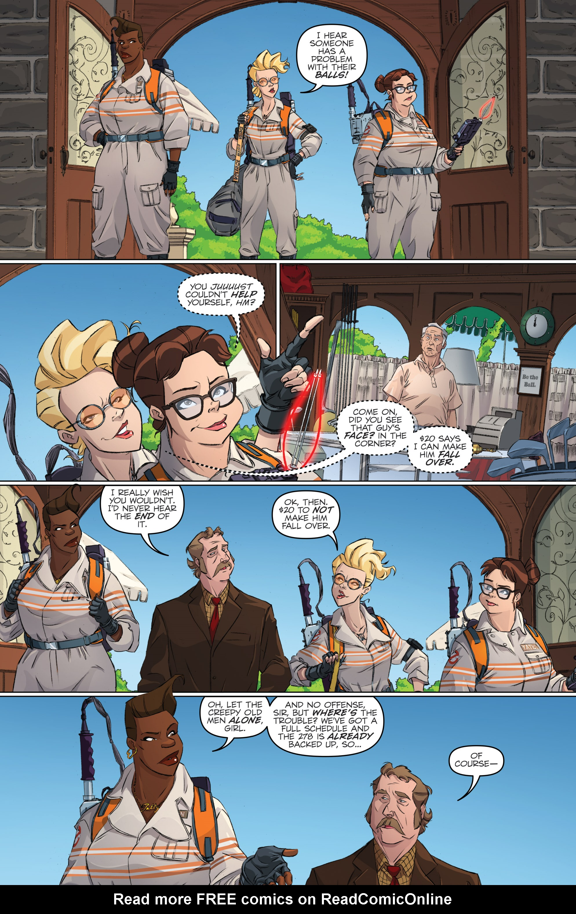 Read online Ghostbusters 101 comic -  Issue #2 - 7