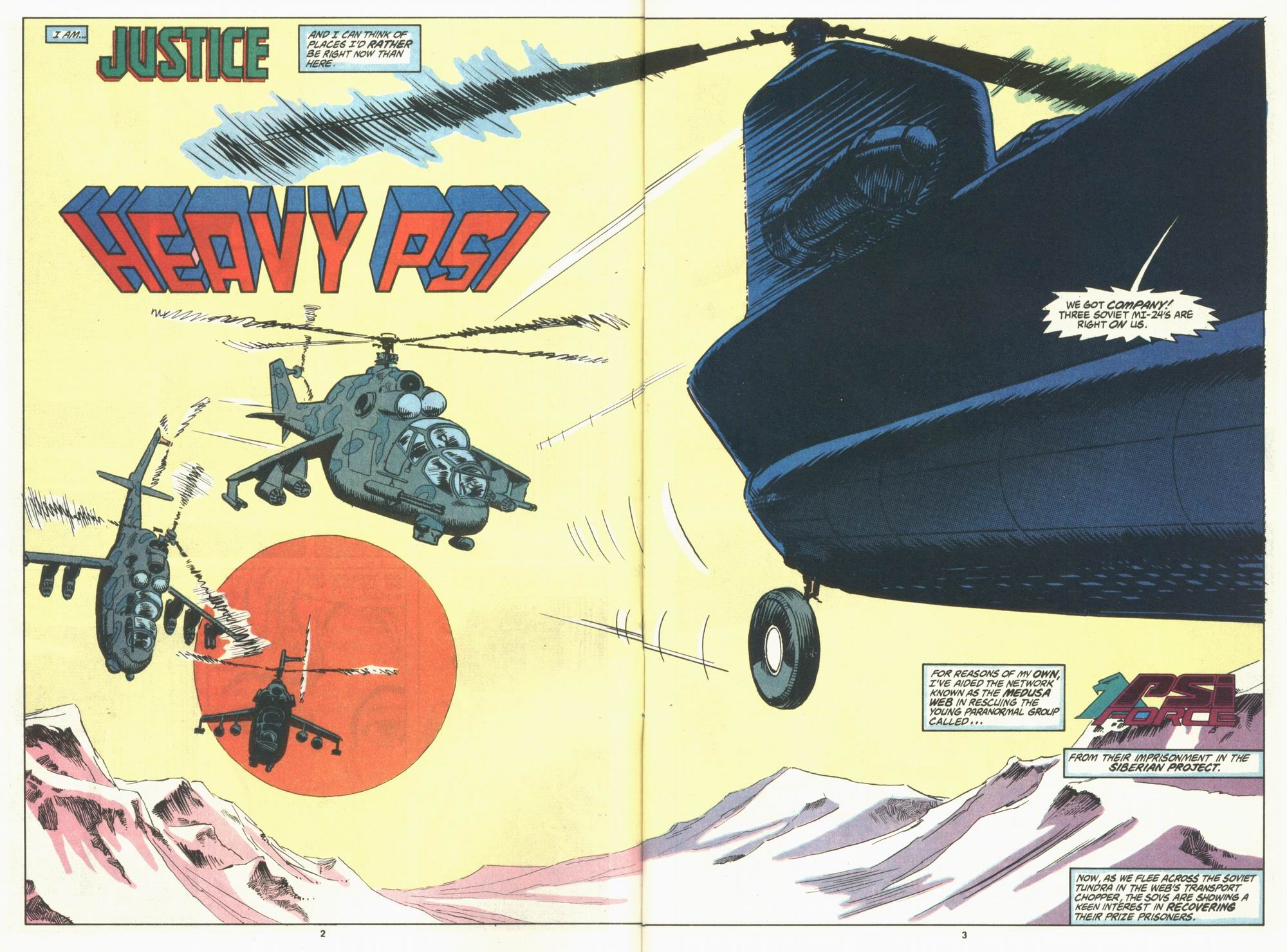 Read online Justice (1986) comic -  Issue #29 - 4