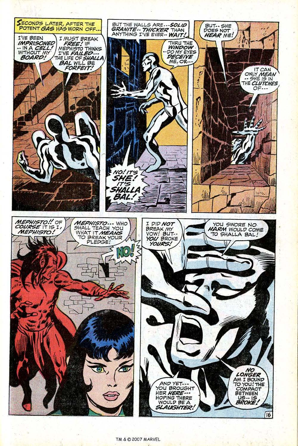 Read online Silver Surfer (1968) comic -  Issue #17 - 23