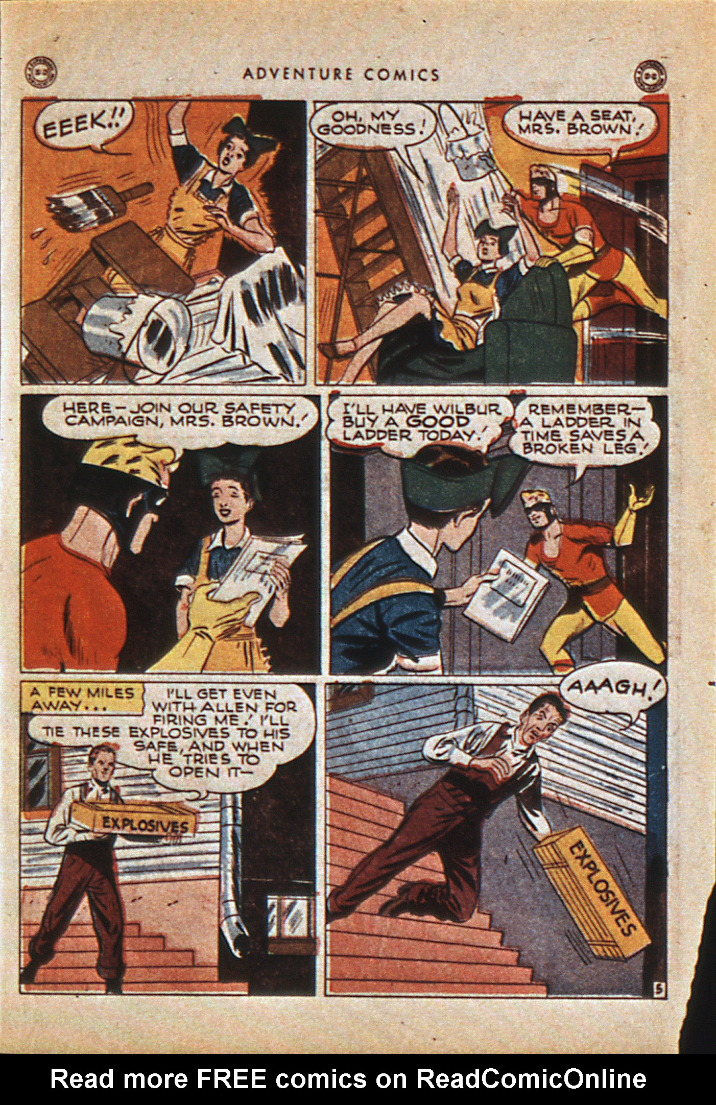 Read online Adventure Comics (1938) comic -  Issue #114 - 44