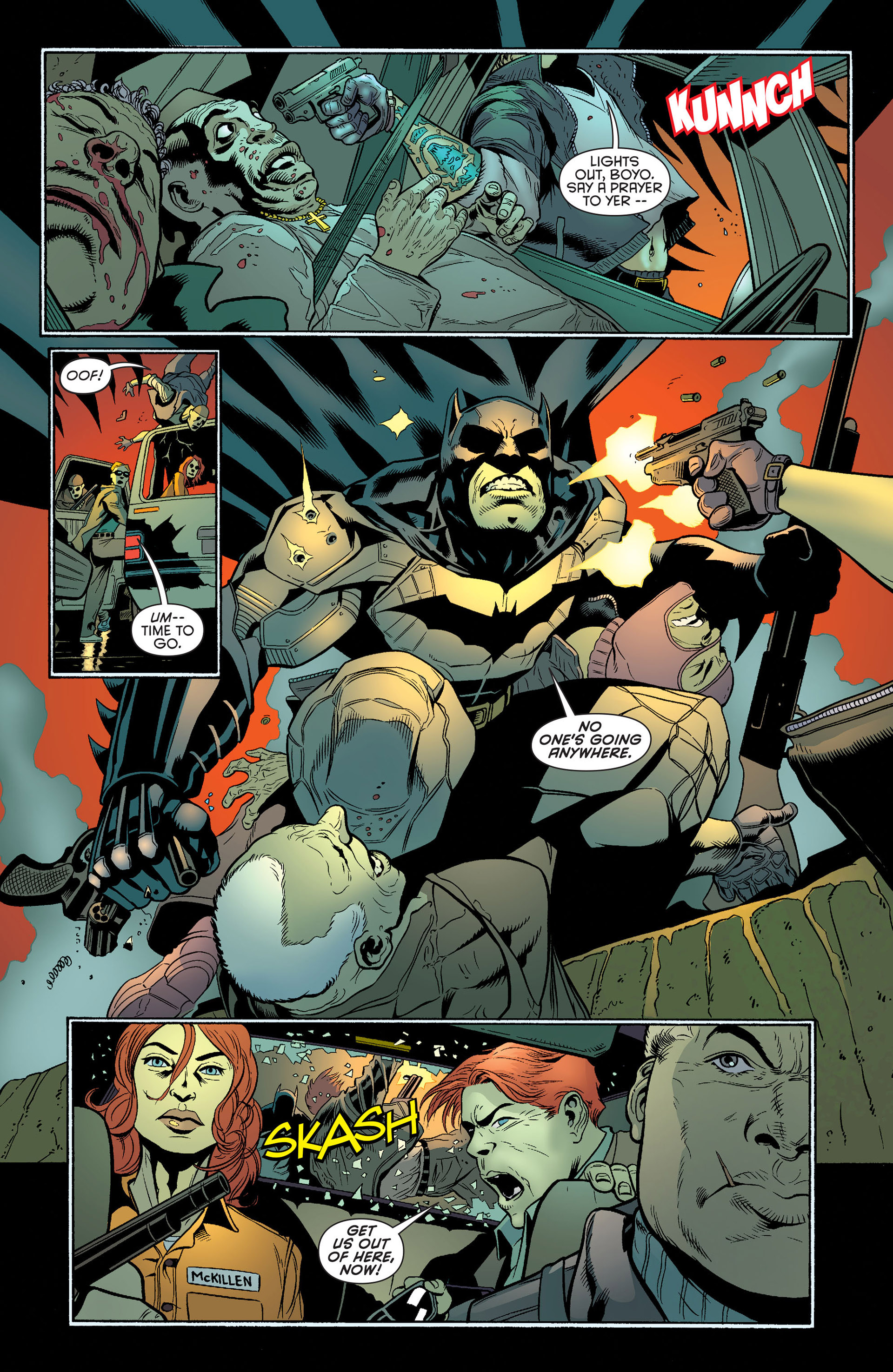 Read online Batman and Robin (2011) comic -  Issue #25 - Batman and Two-Face - 8
