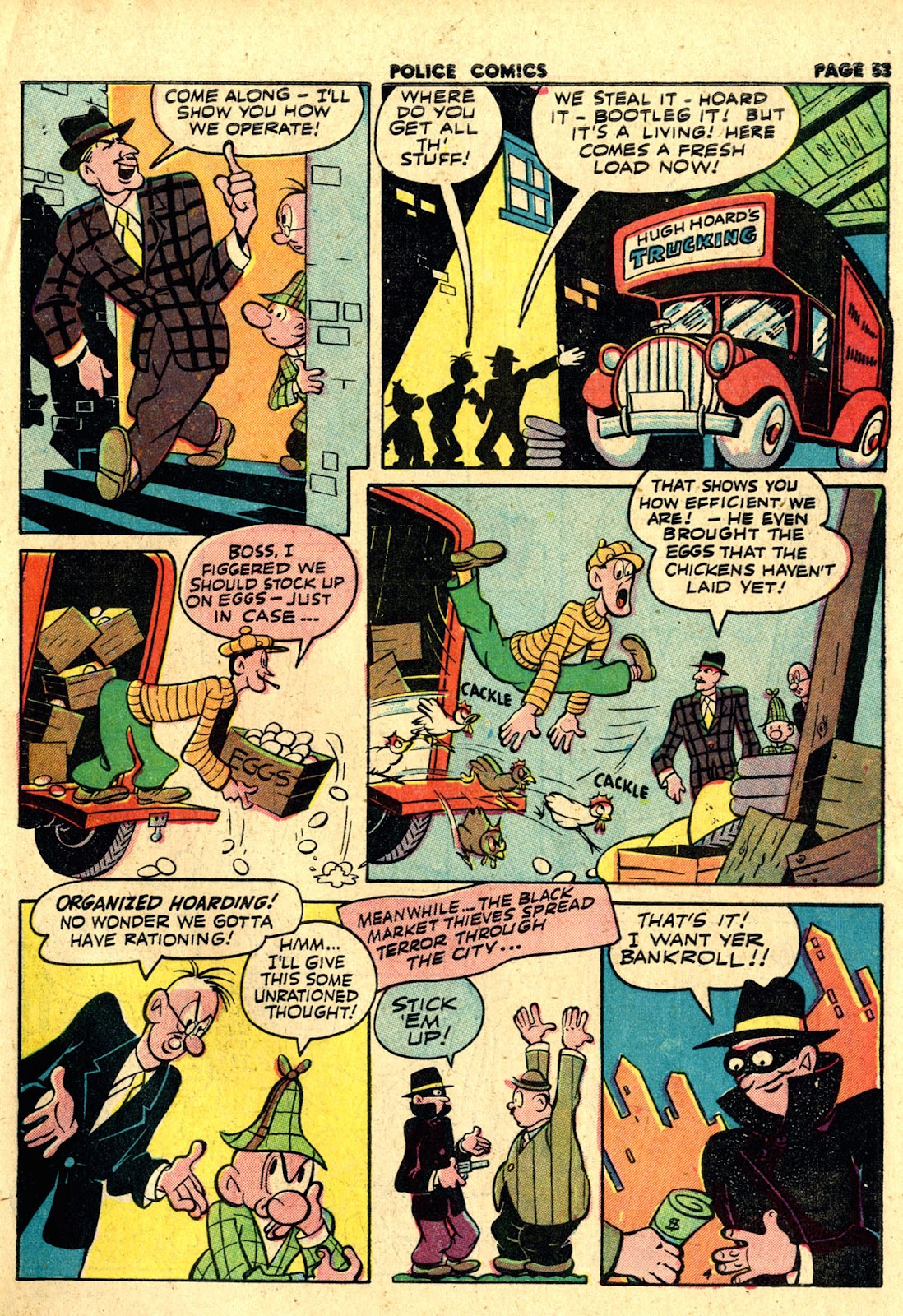 Police Comics issue 19 - Page 55