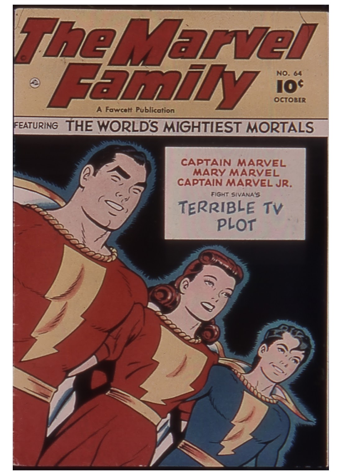The Marvel Family 64 Page 1