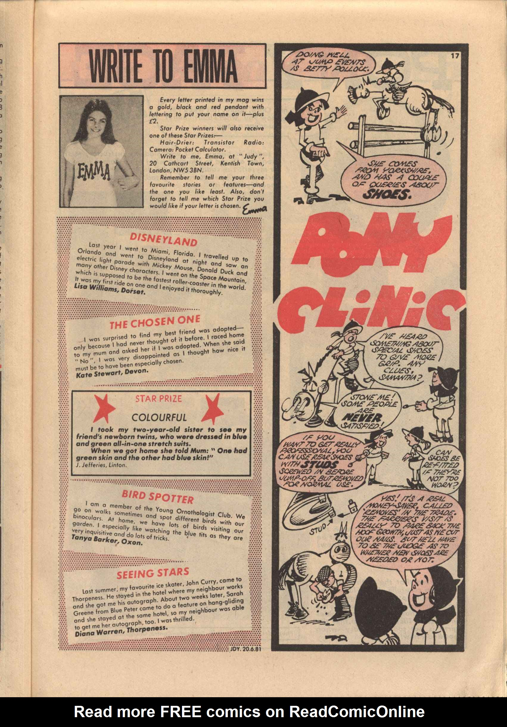 Read online Judy comic -  Issue #1119 - 17